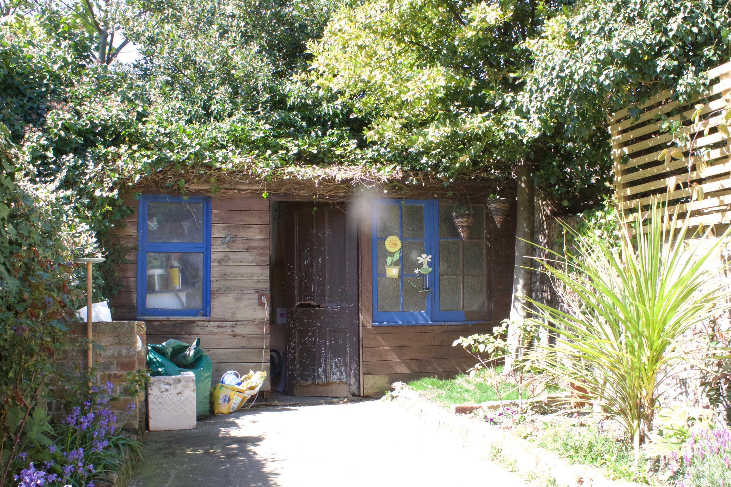 shed before it's makeover, by hesters handmadehome