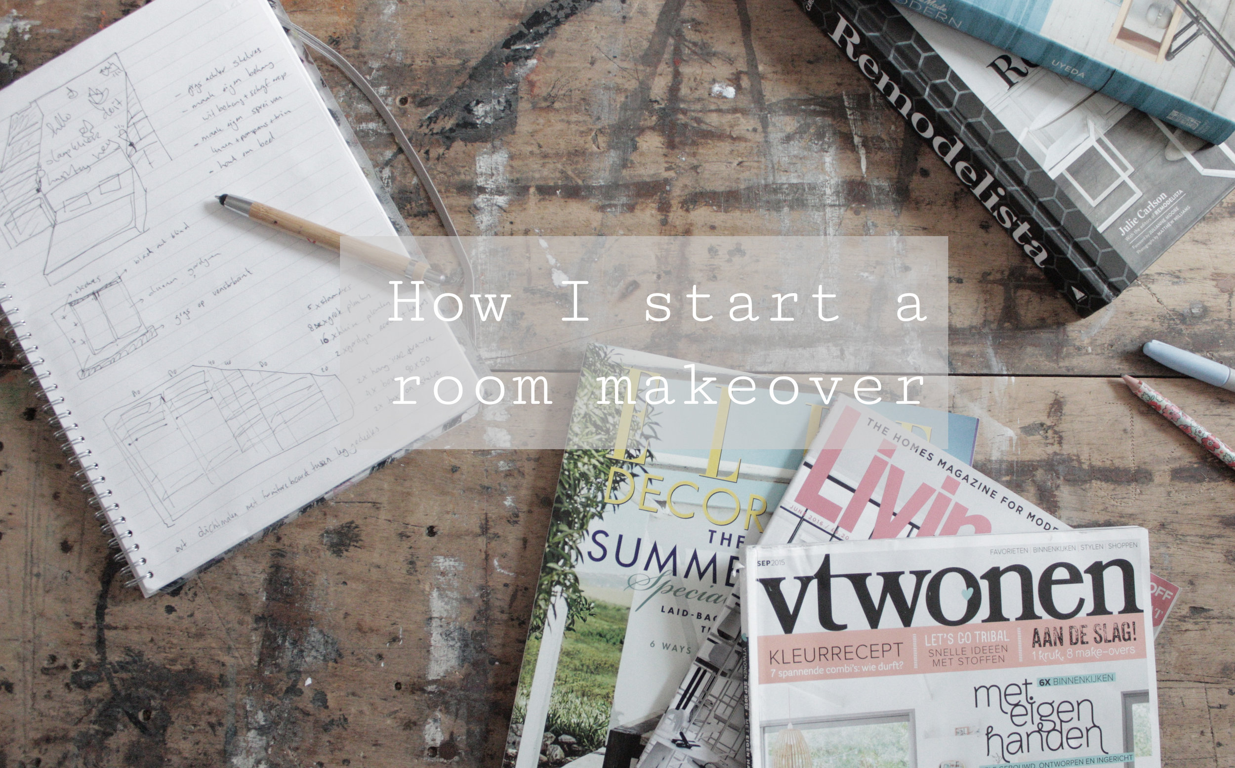 how to plan a room makeover