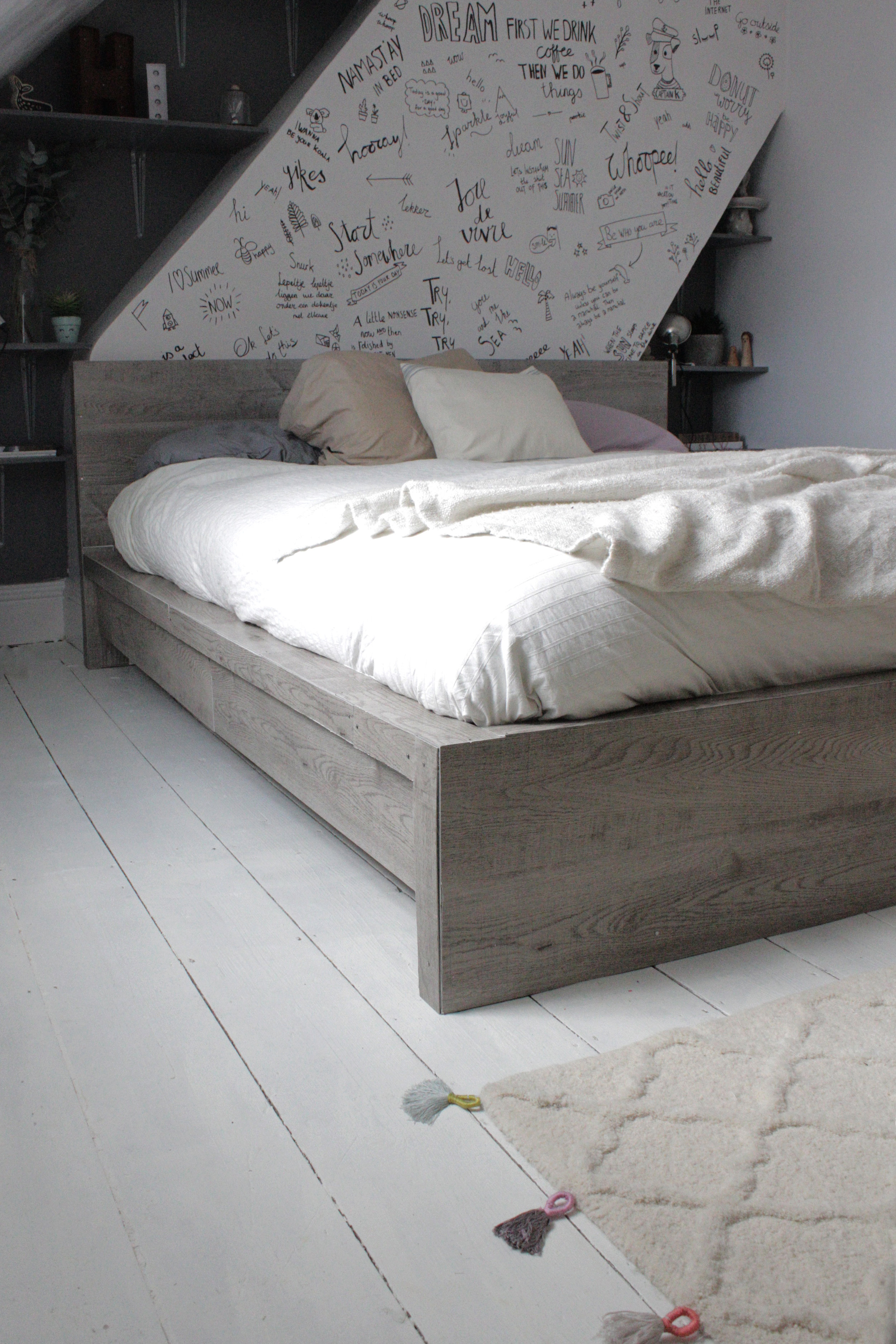 Ikea bed hack by Hesters Handmade Home