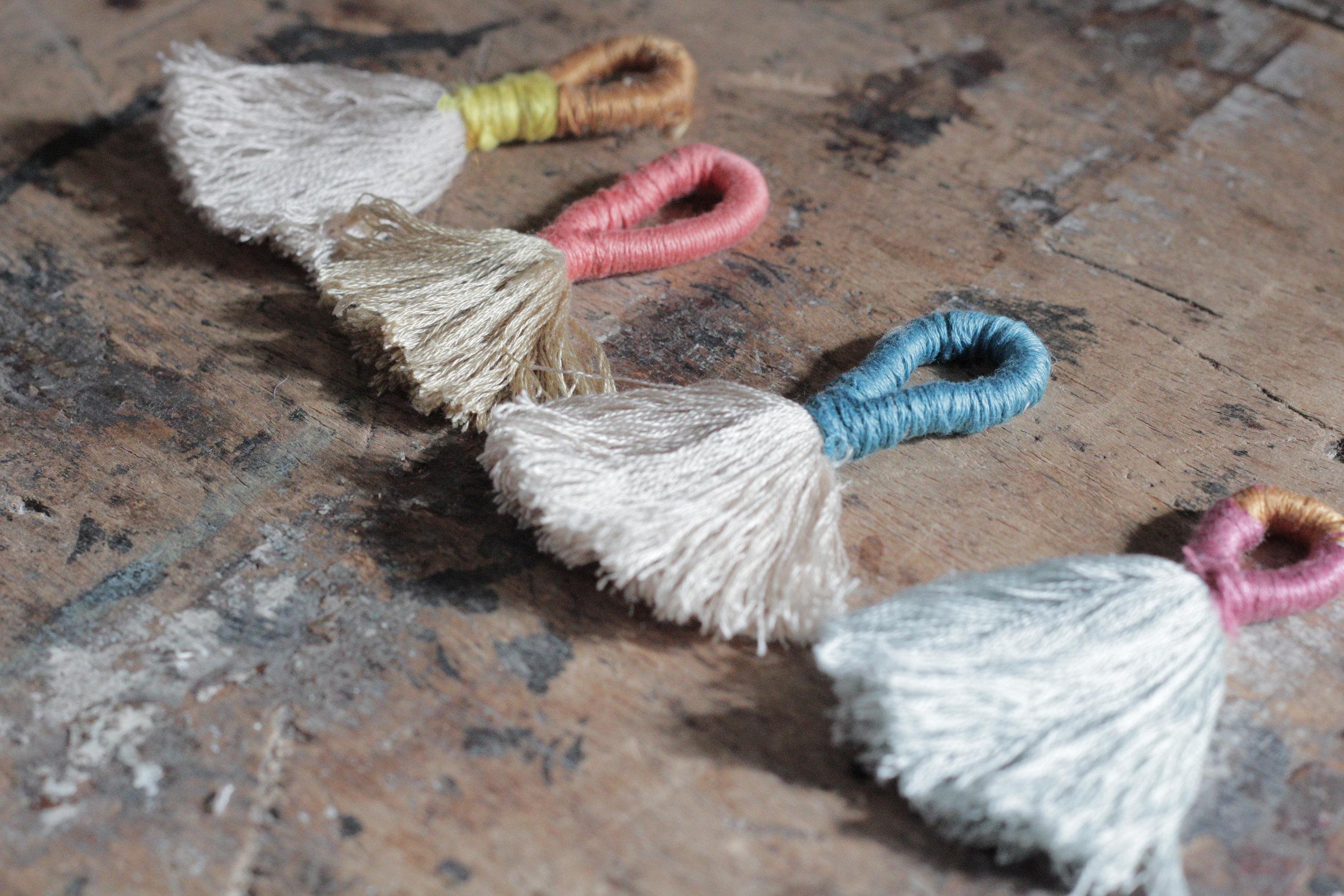 Tassel tutorial by hesters handmade home