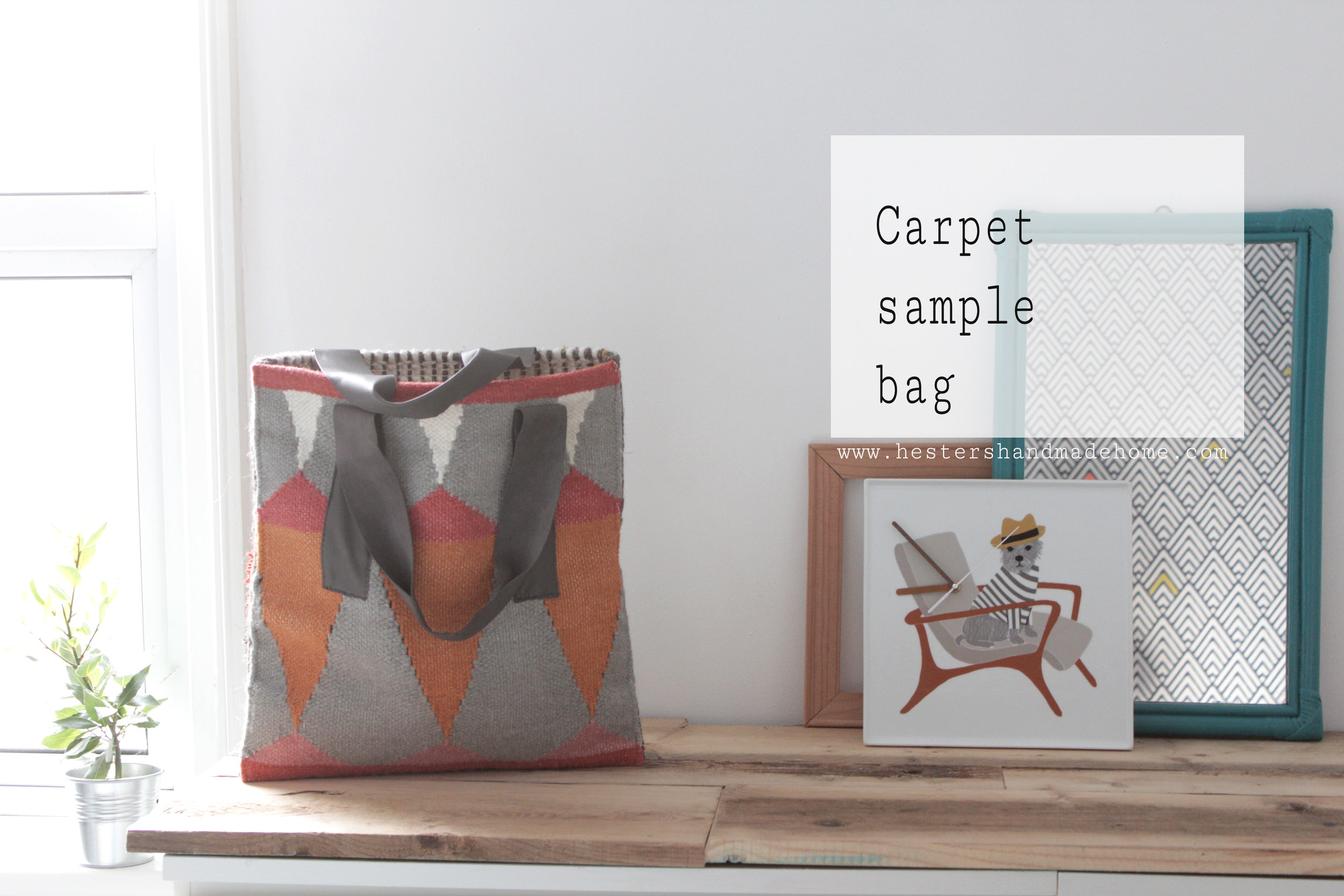Carpet bag tutorial by Hesters Handmade Home