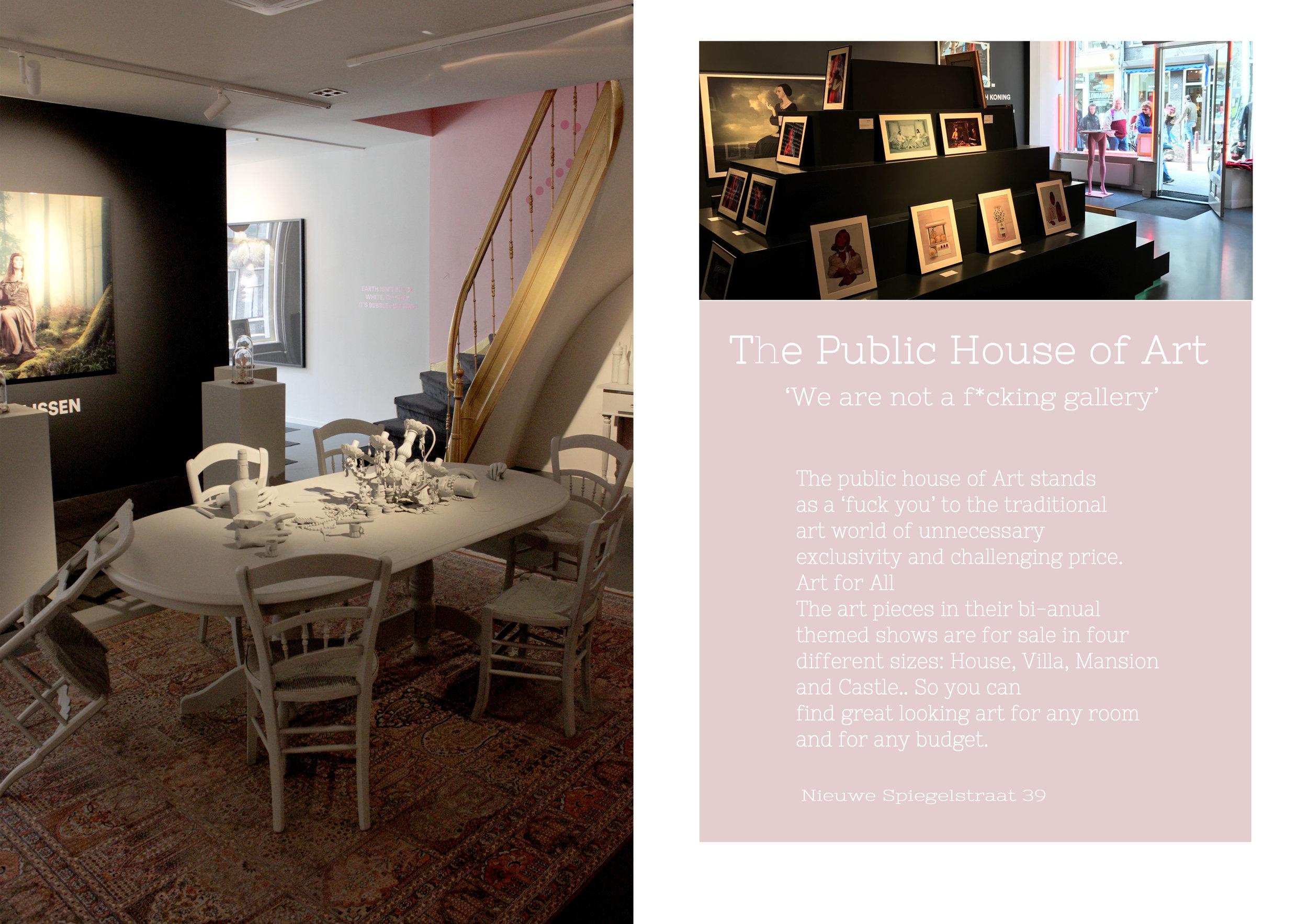 Public house of art Amsterdam city guide Hester's Handmade Home