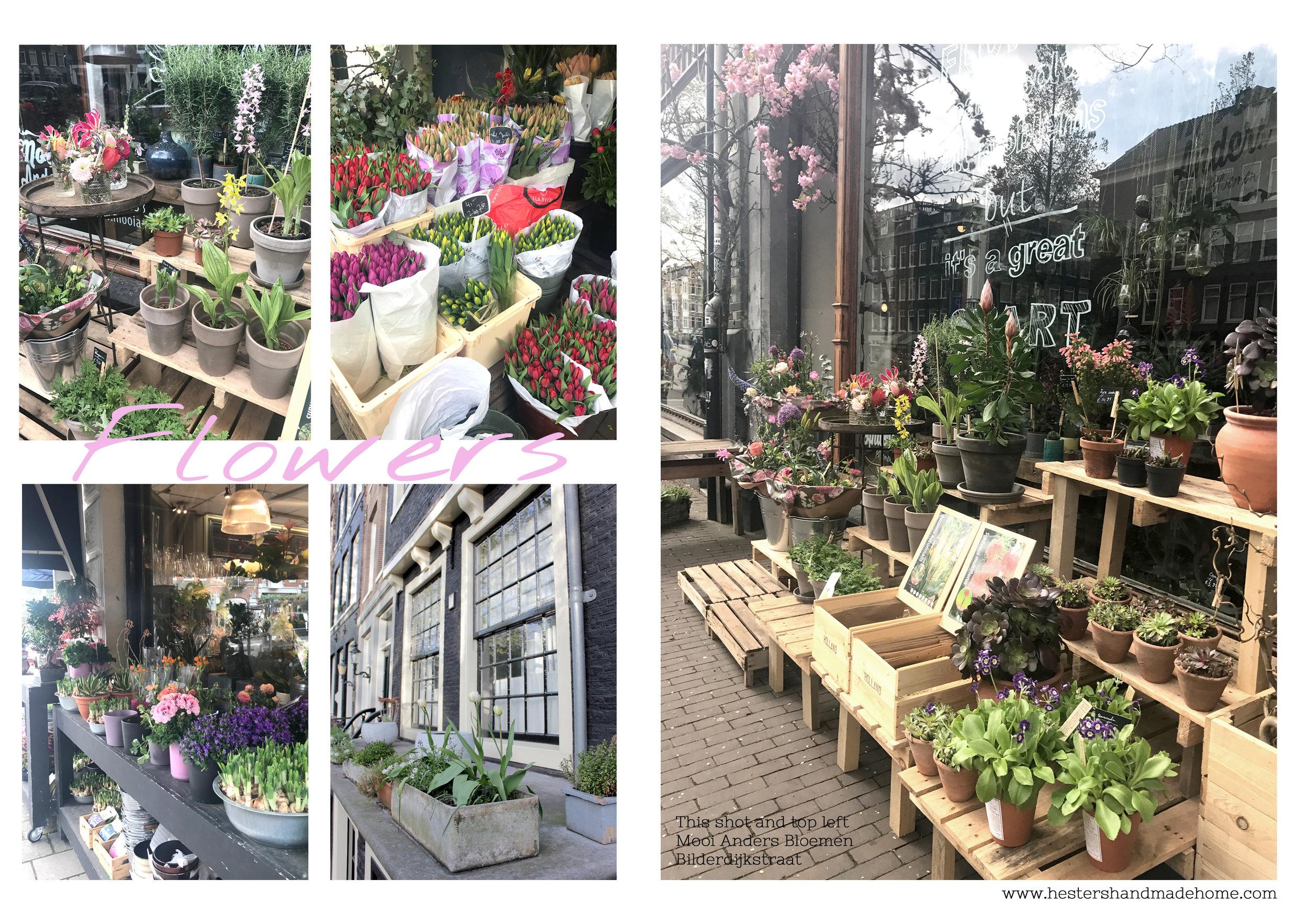 flowers Amsterdam city guide Hesters Handmade Home