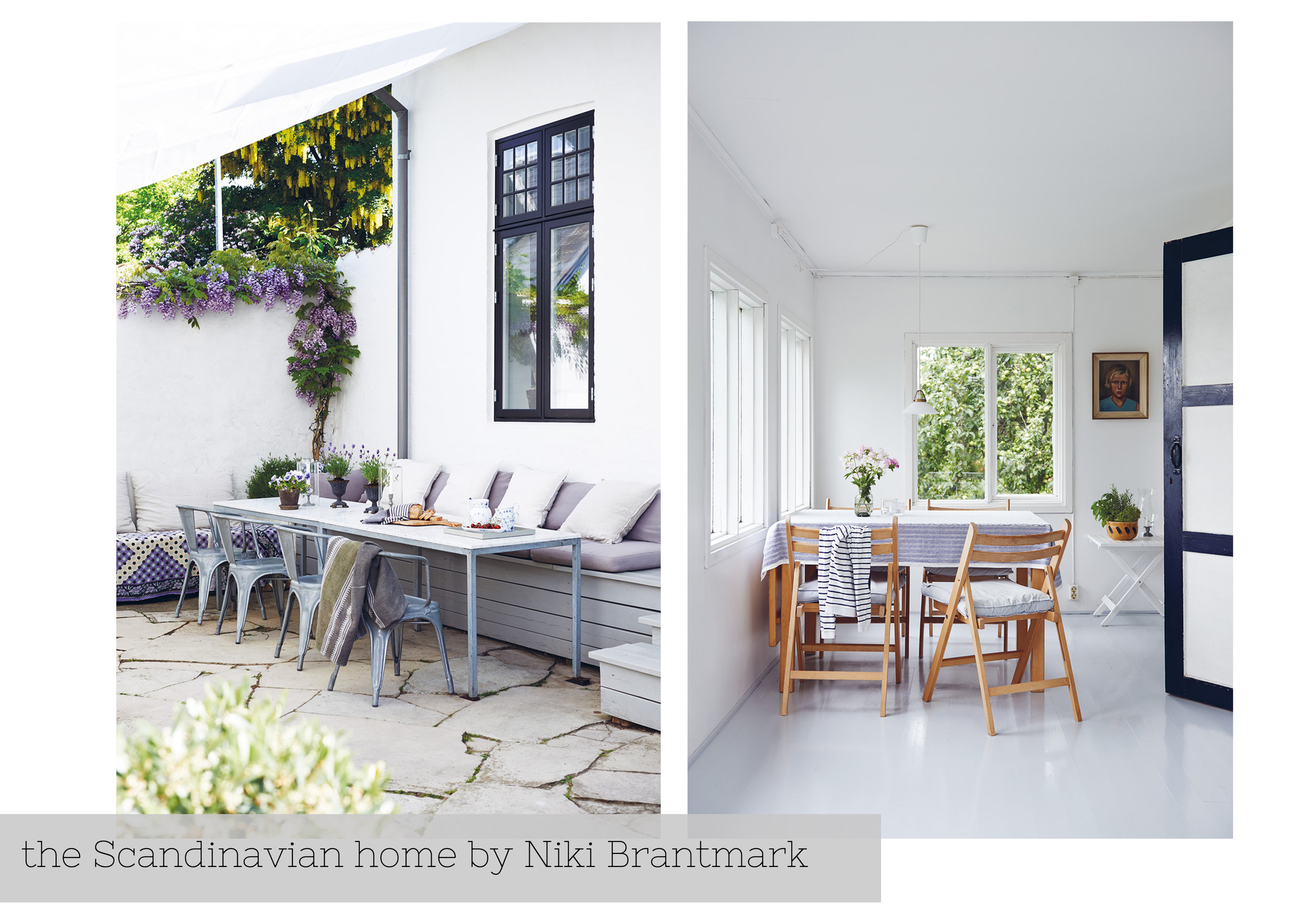 The Scandinavian Home by Niki Brantmark, book review by www.hestershandmadehome.com