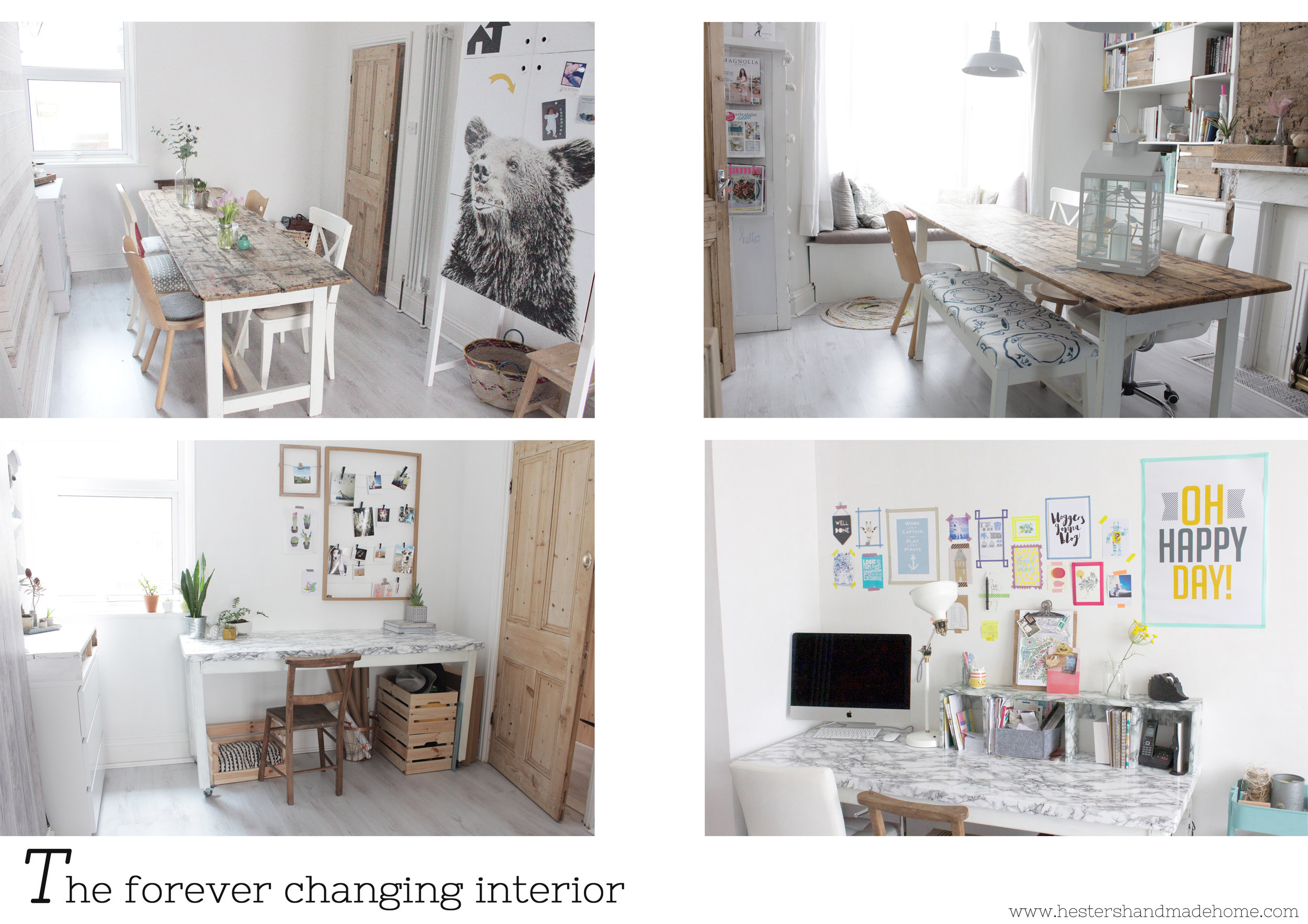 home makeover by www.hestershandmadehome.com