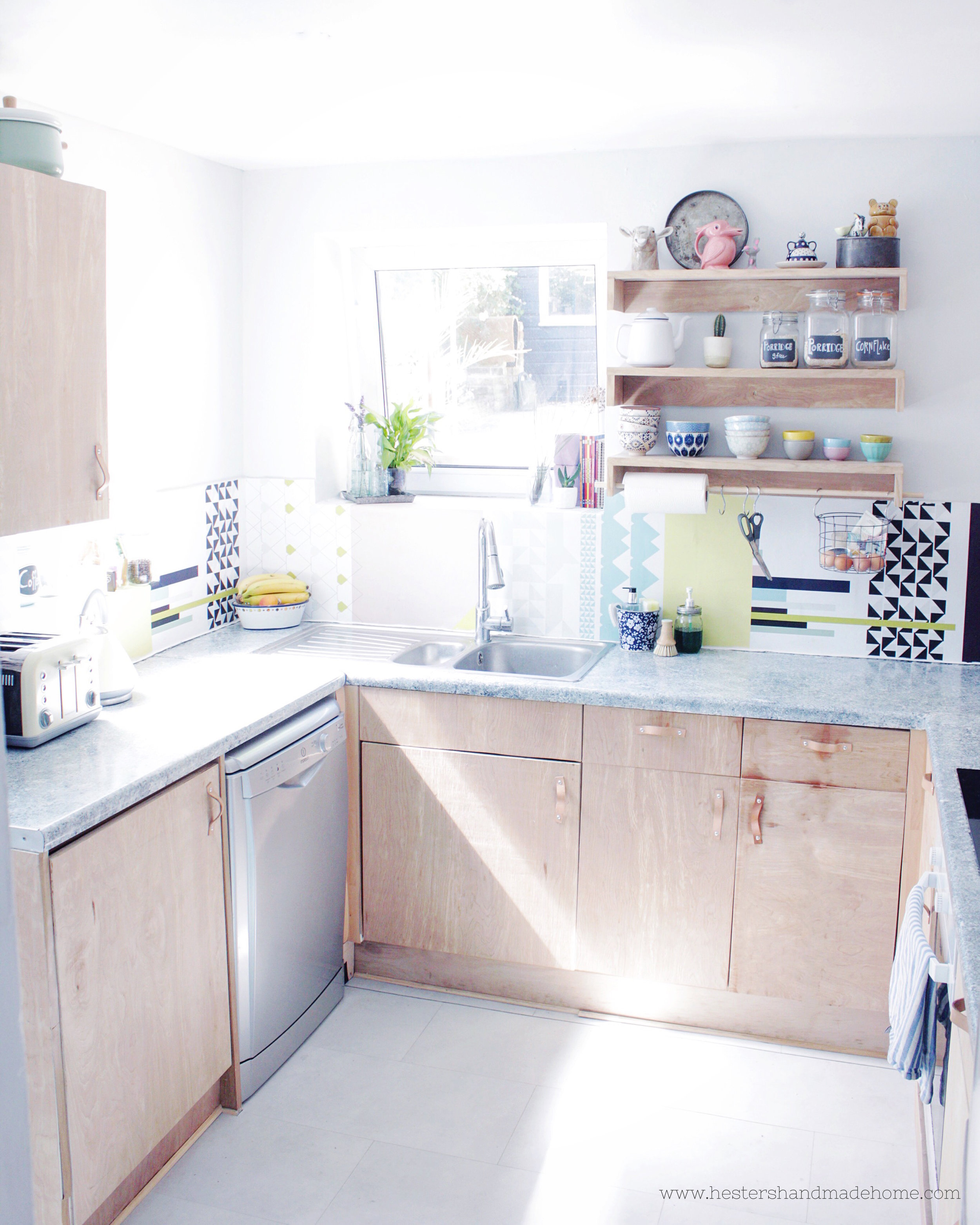 Nordic kitchen by www.hestershandmadehome.com