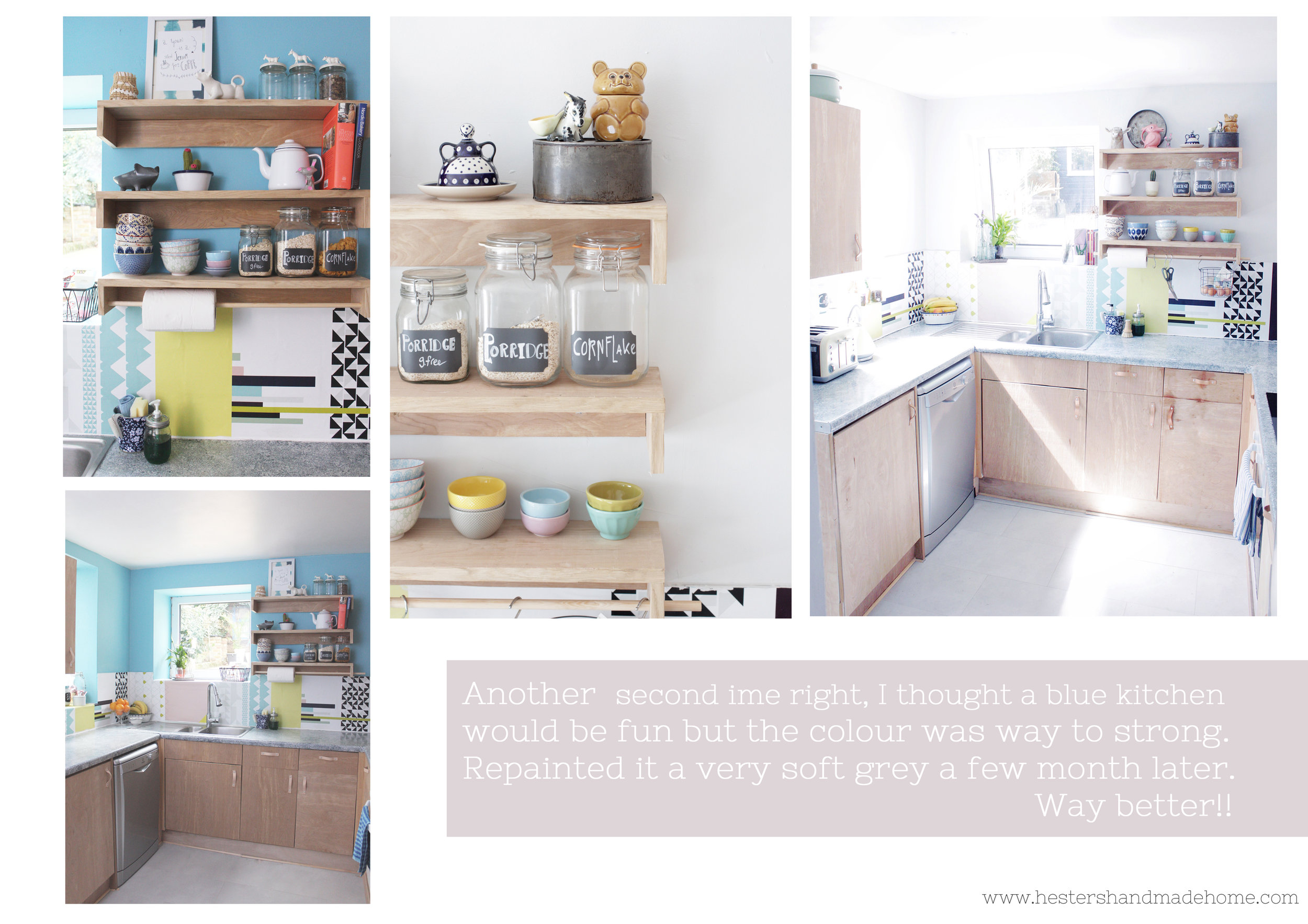 kitchen makeover mistakes by www.hestershandmadehome.com