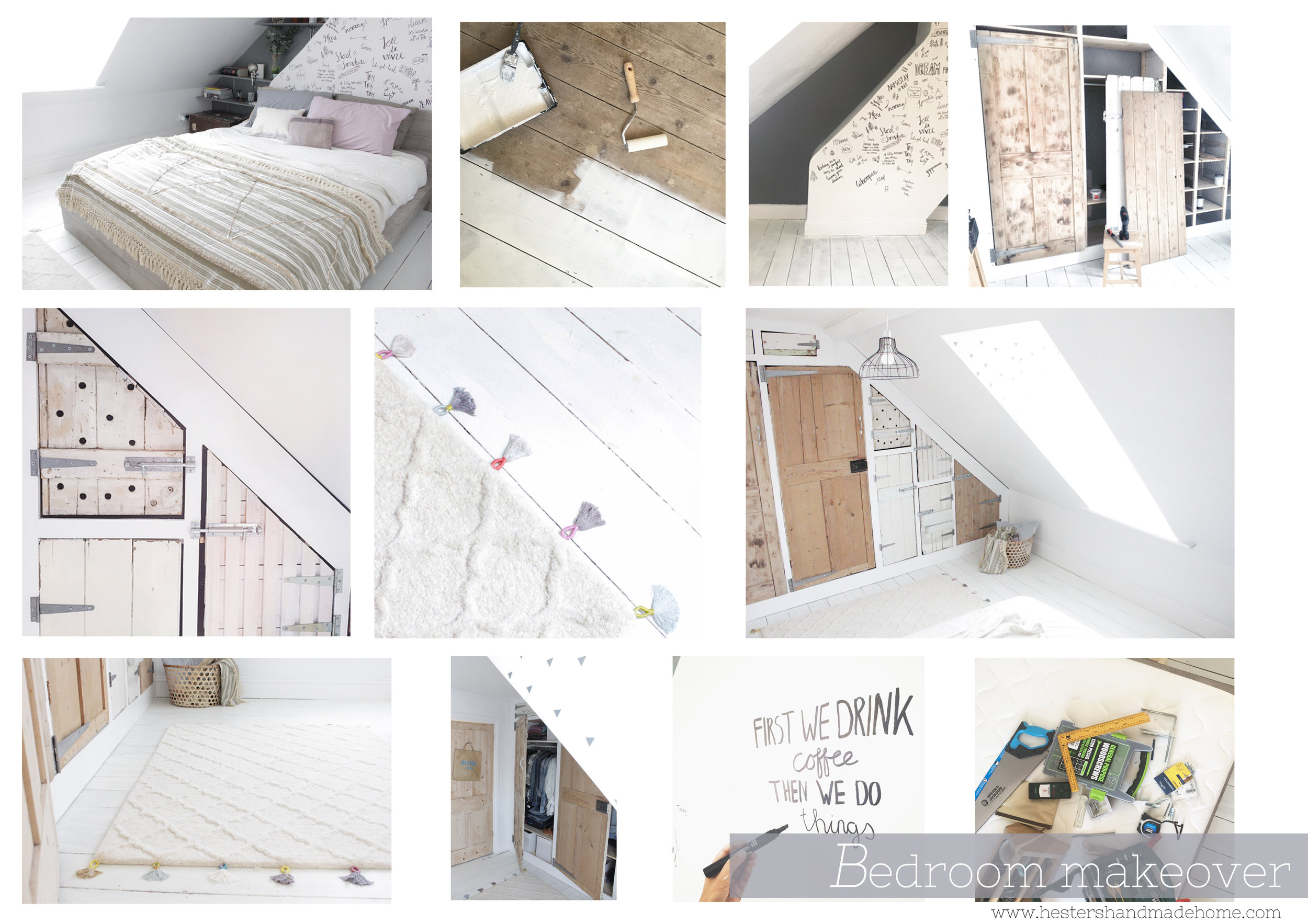 bedroom builds by www.hestershandmadehome