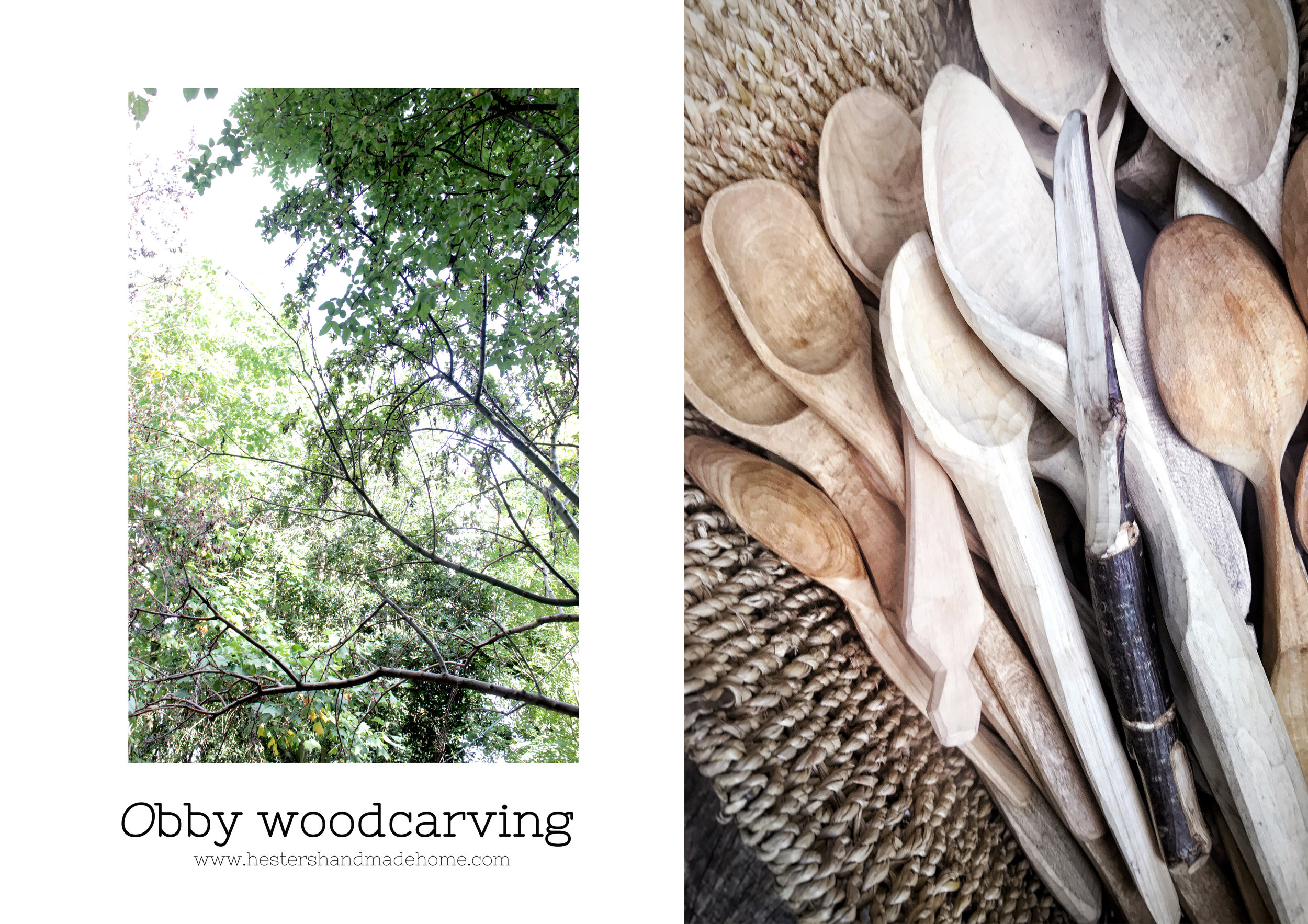 Spoon craving with Obby in London Green Woods interview by www.hestershandmadehome.com