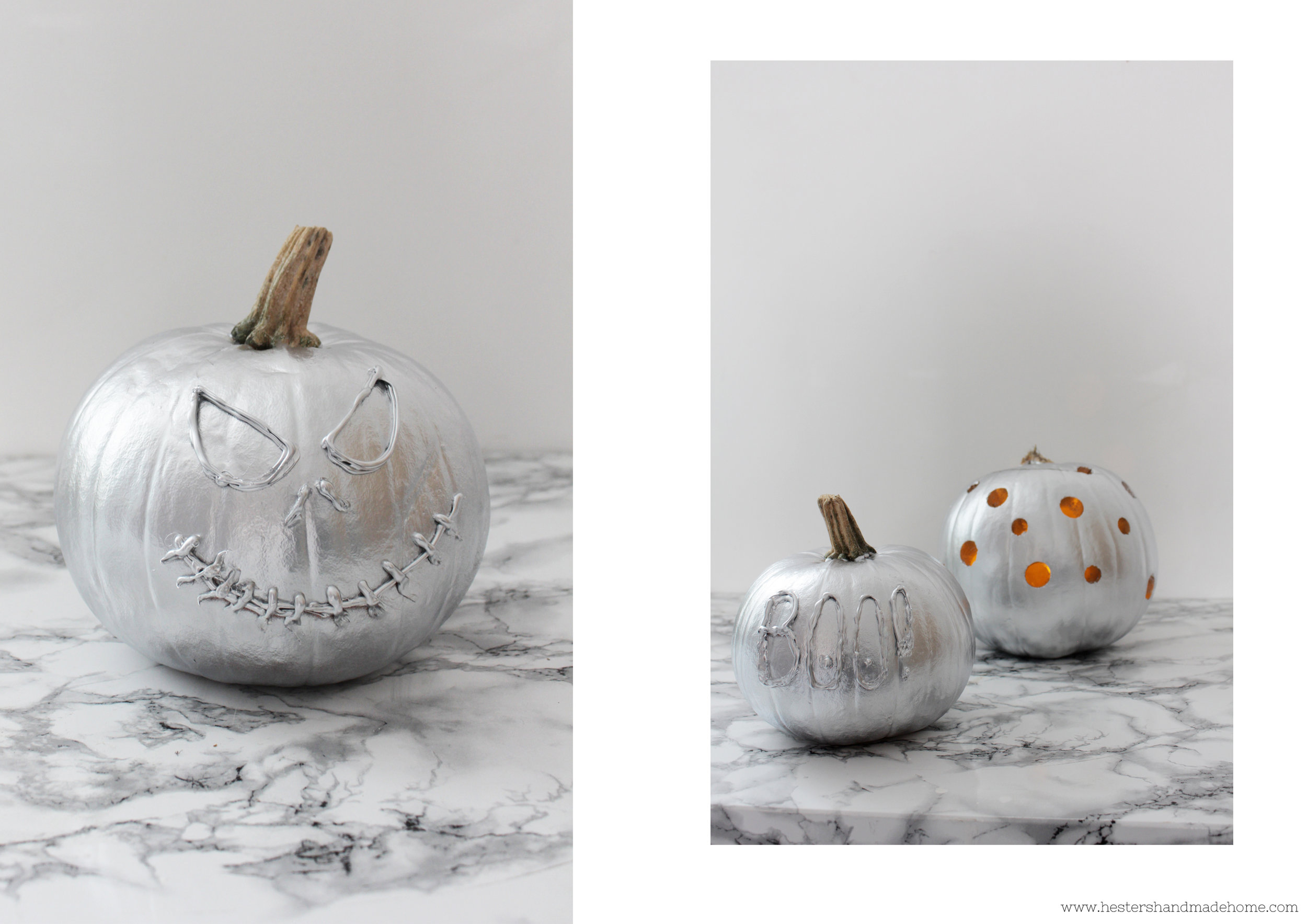 Pumpkin carving with Ryobi One plus power tools by www.hestershandmadehome.com