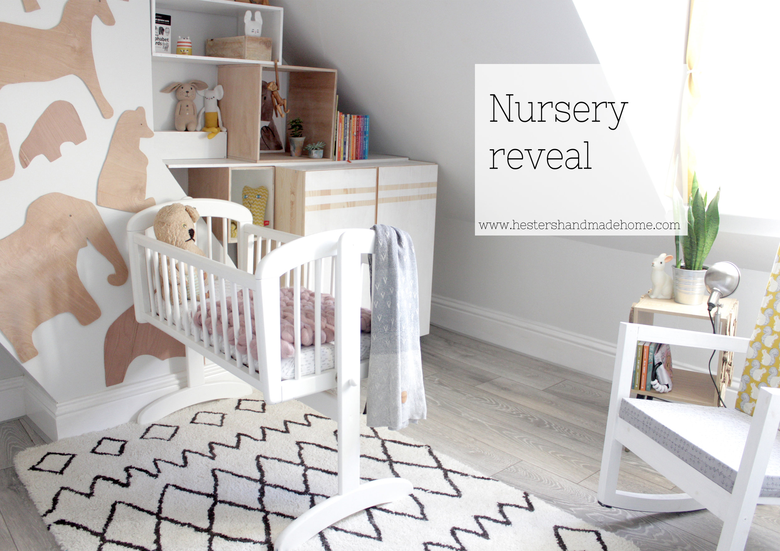 Nursery reveal www.hestershandmadehome.com
