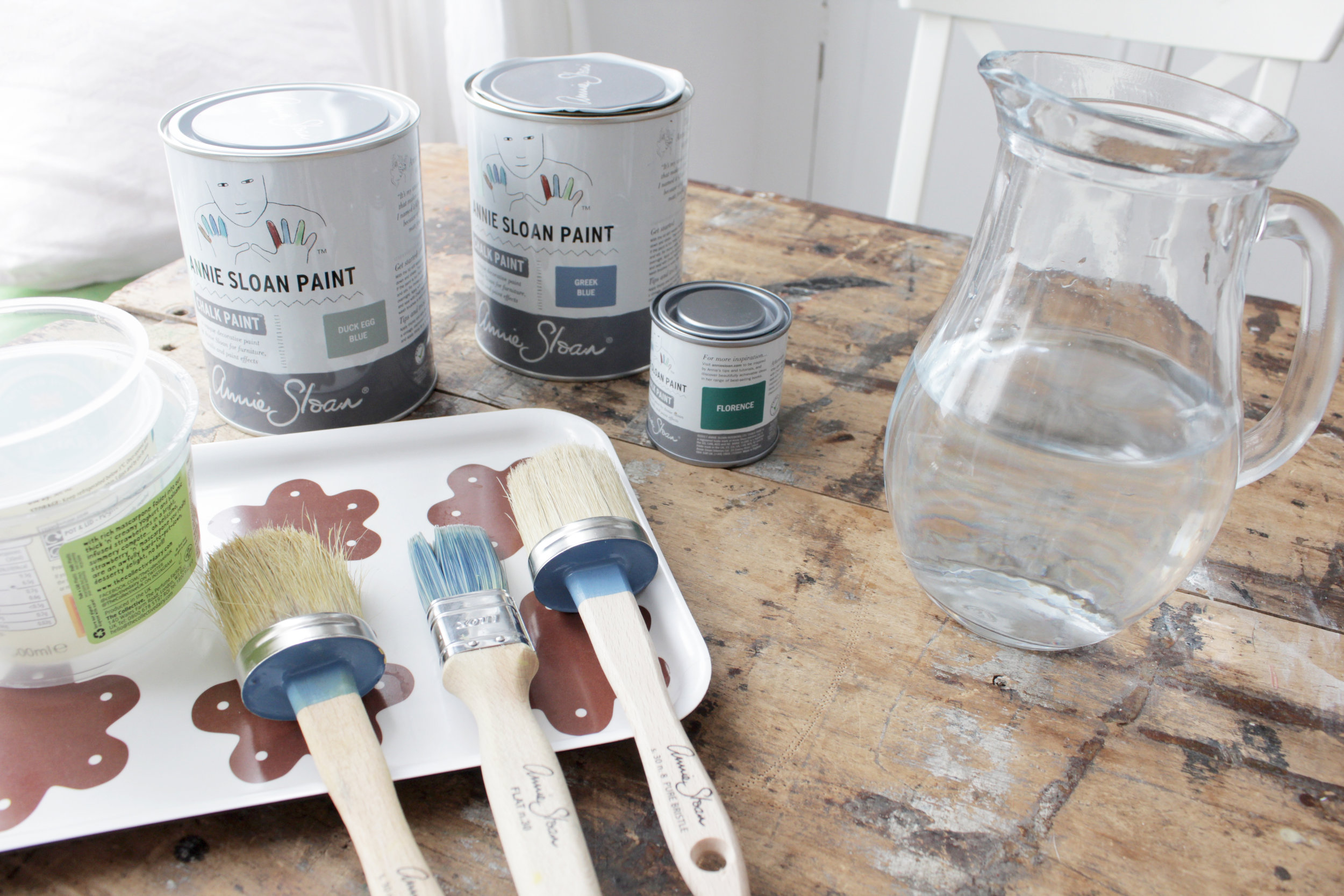 chalk paint chair makeover by Hesters handmade home