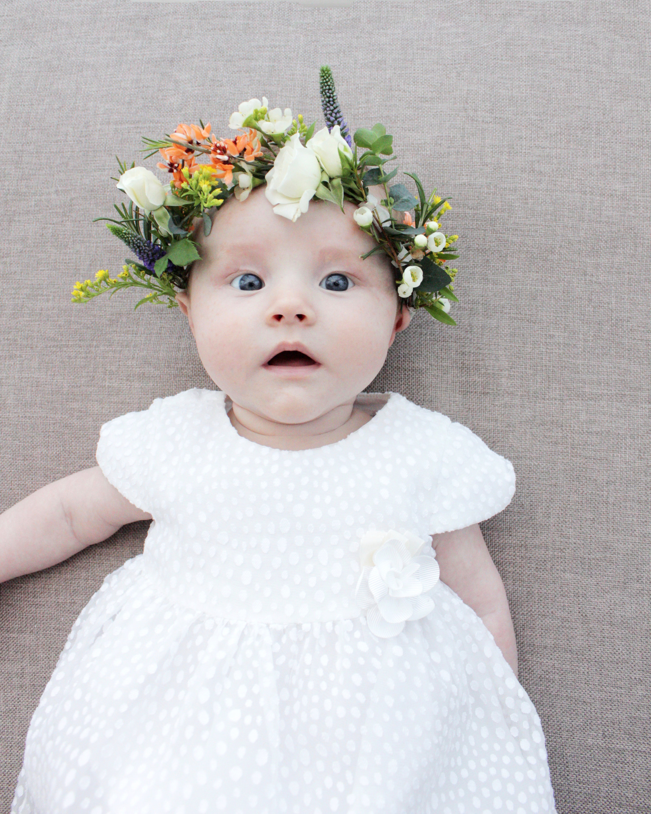 How to make a flower crown, video tutorial by www.hestershandmadehome.com
