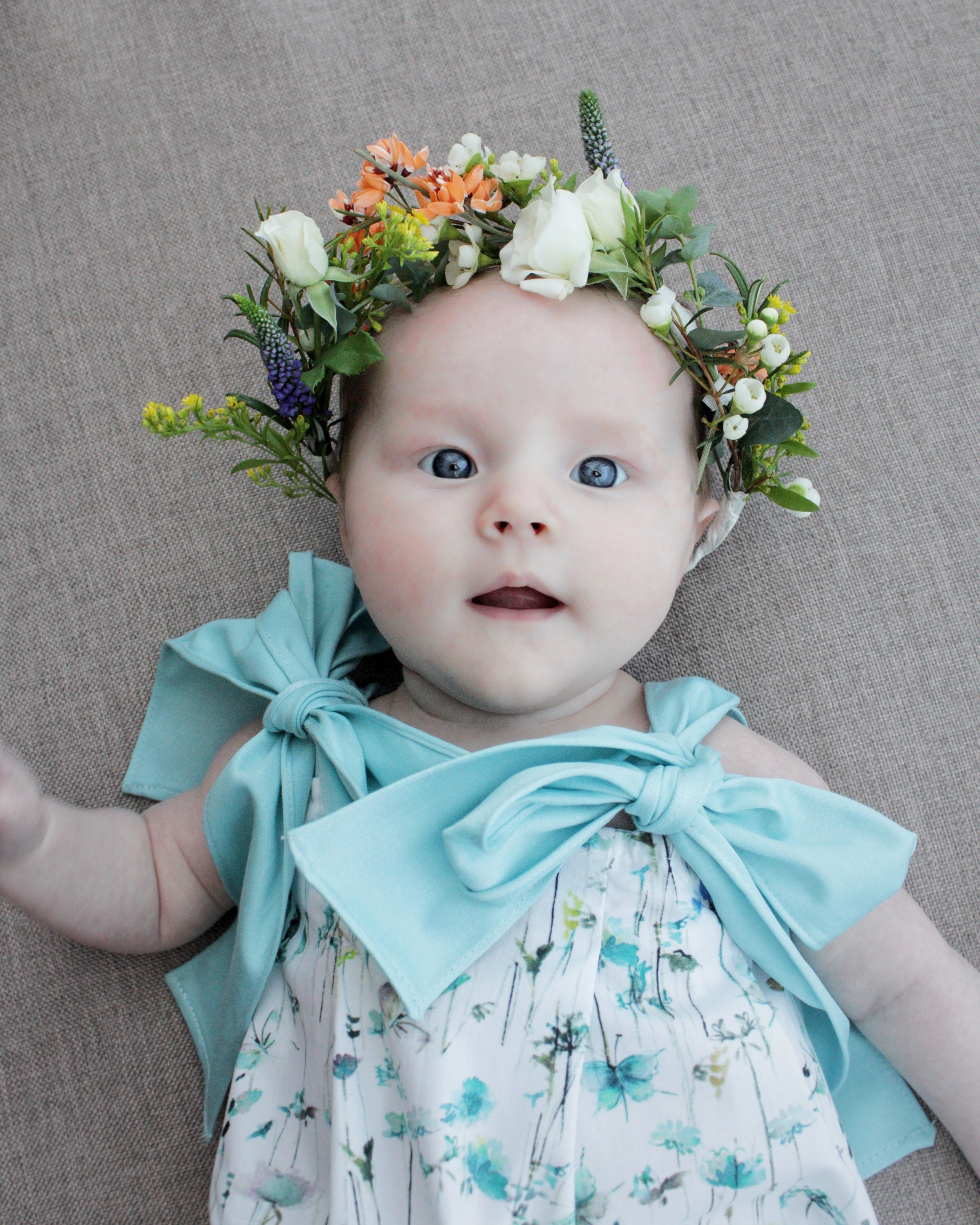 how to make a flower crown for a child by www.hestershandmadehome.com