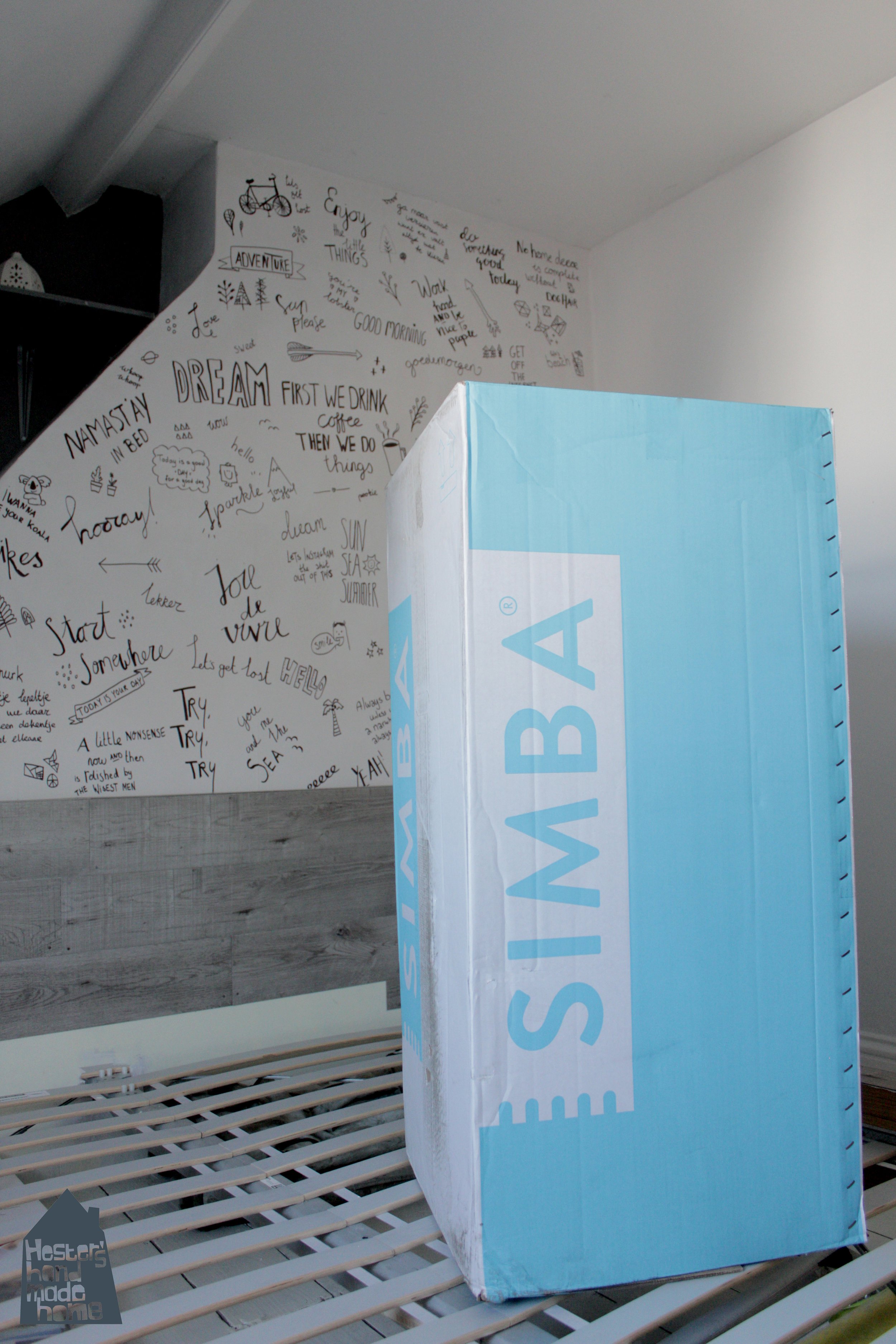 Simba mattress review by www.hestershandmadehome.com