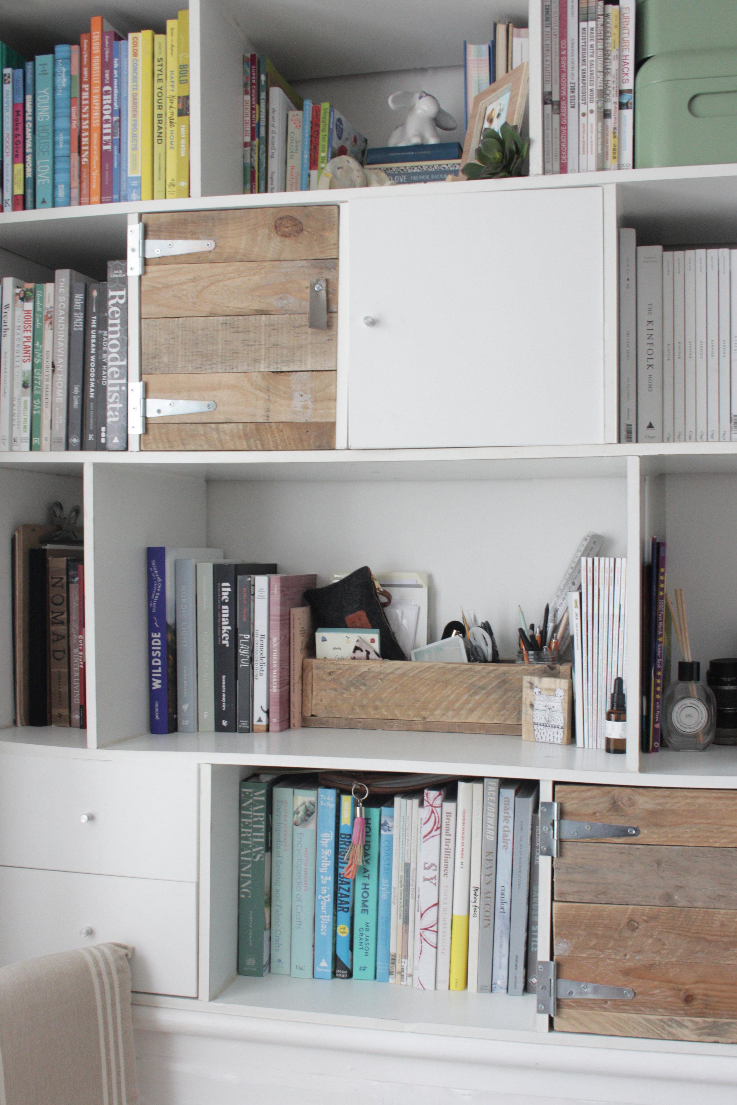 The power of closing a cupboard door :-)