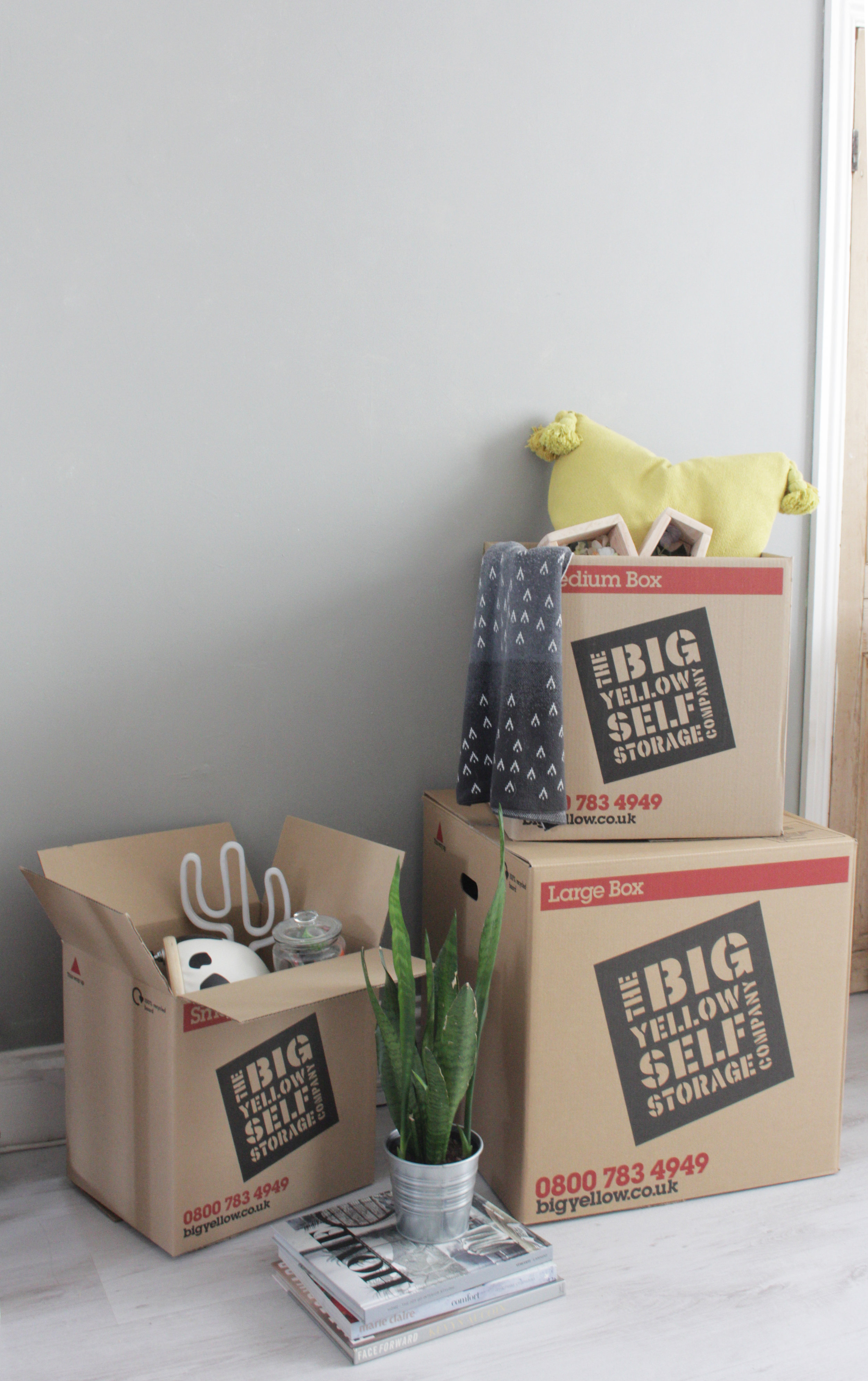 Decluttering with Big Yellow Self Storage