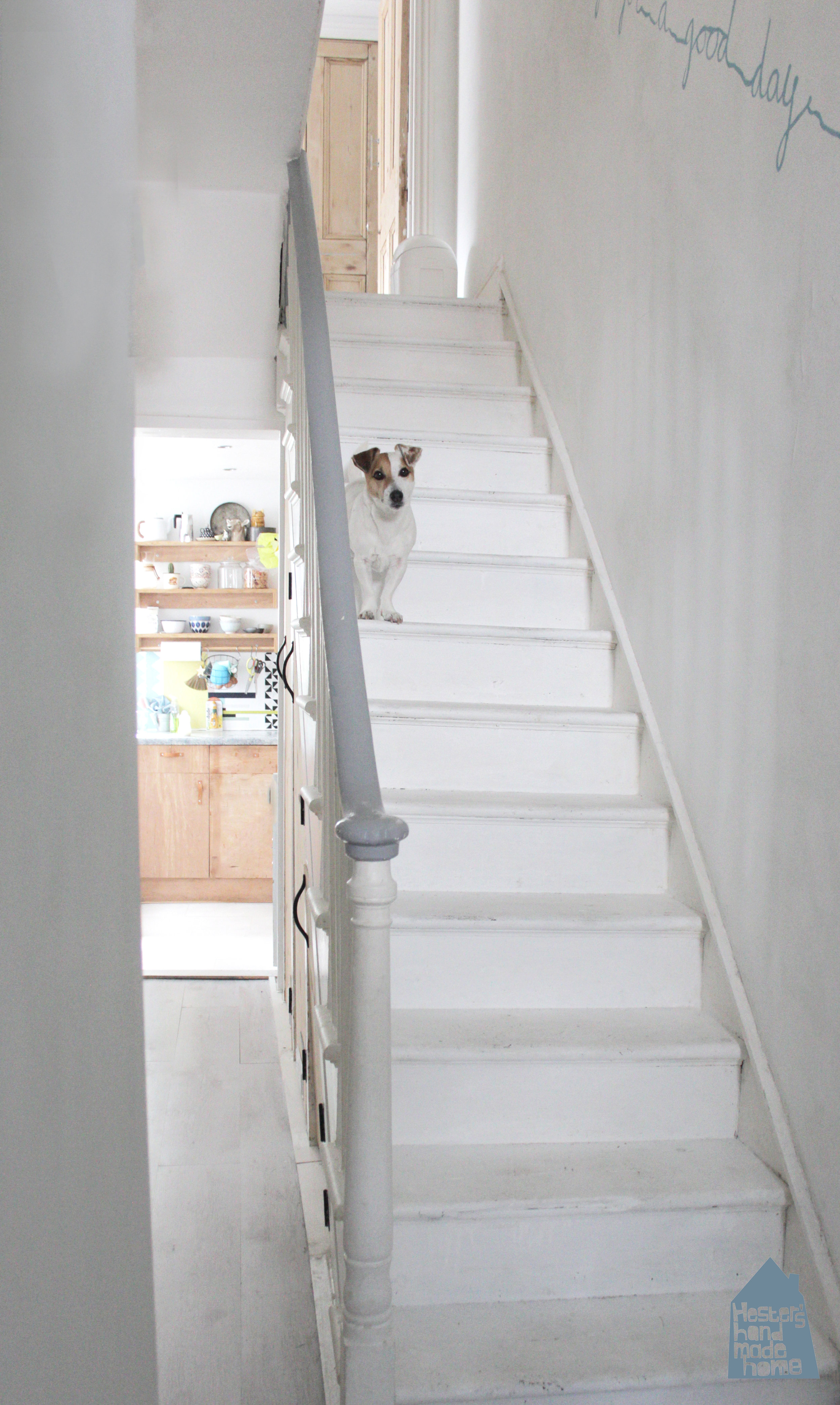 The stairs before