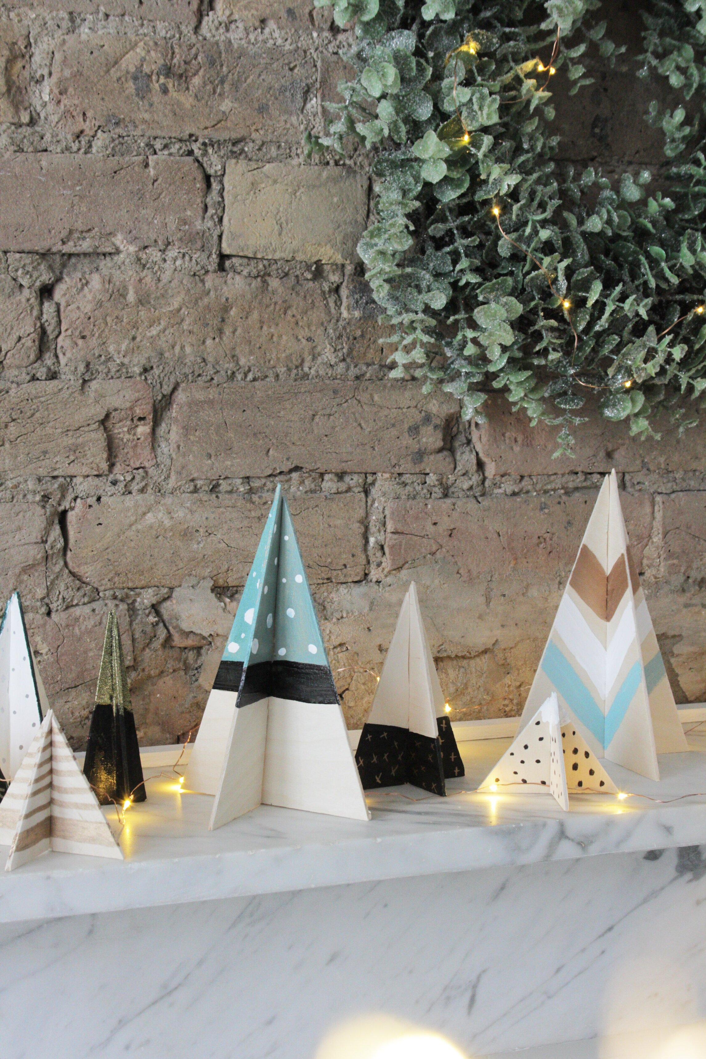 Diy Scandi Christmas Trees Hester S Handmade Home