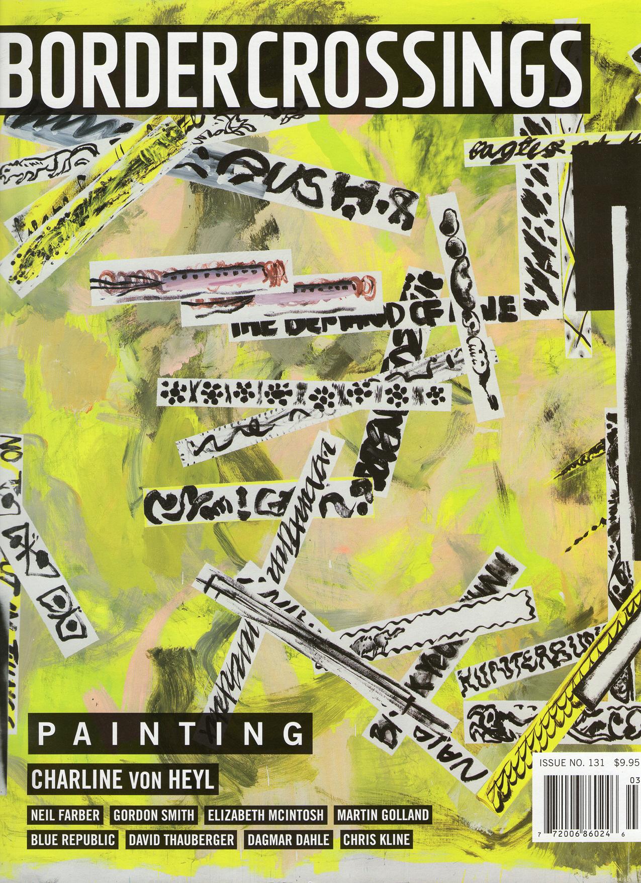 Border Crossings: Painting- Issue 131 - September 2014