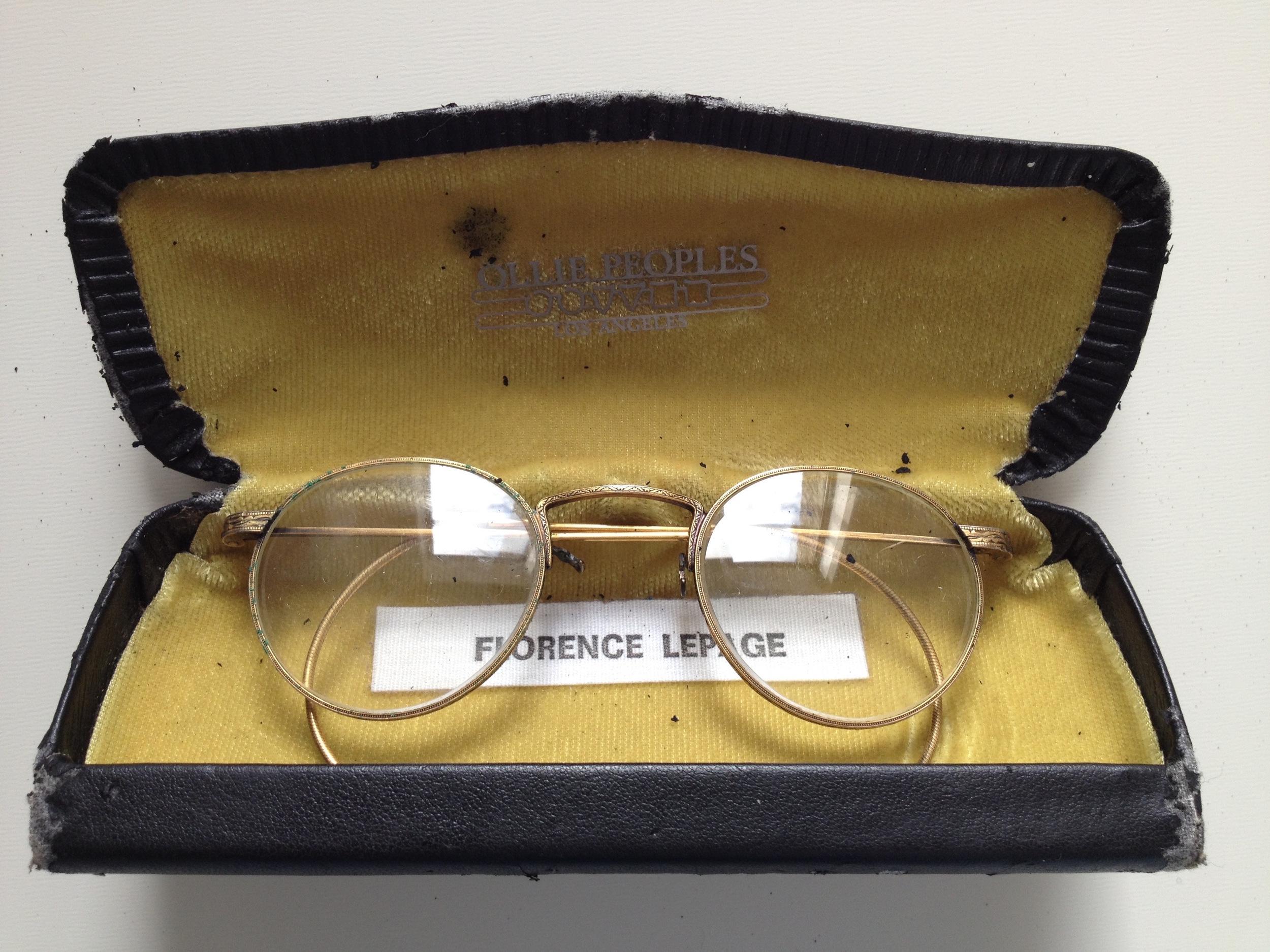 Florence Vallières/Lambert Lepage, Les lunettes de l'archevêque  (c. 1896)
