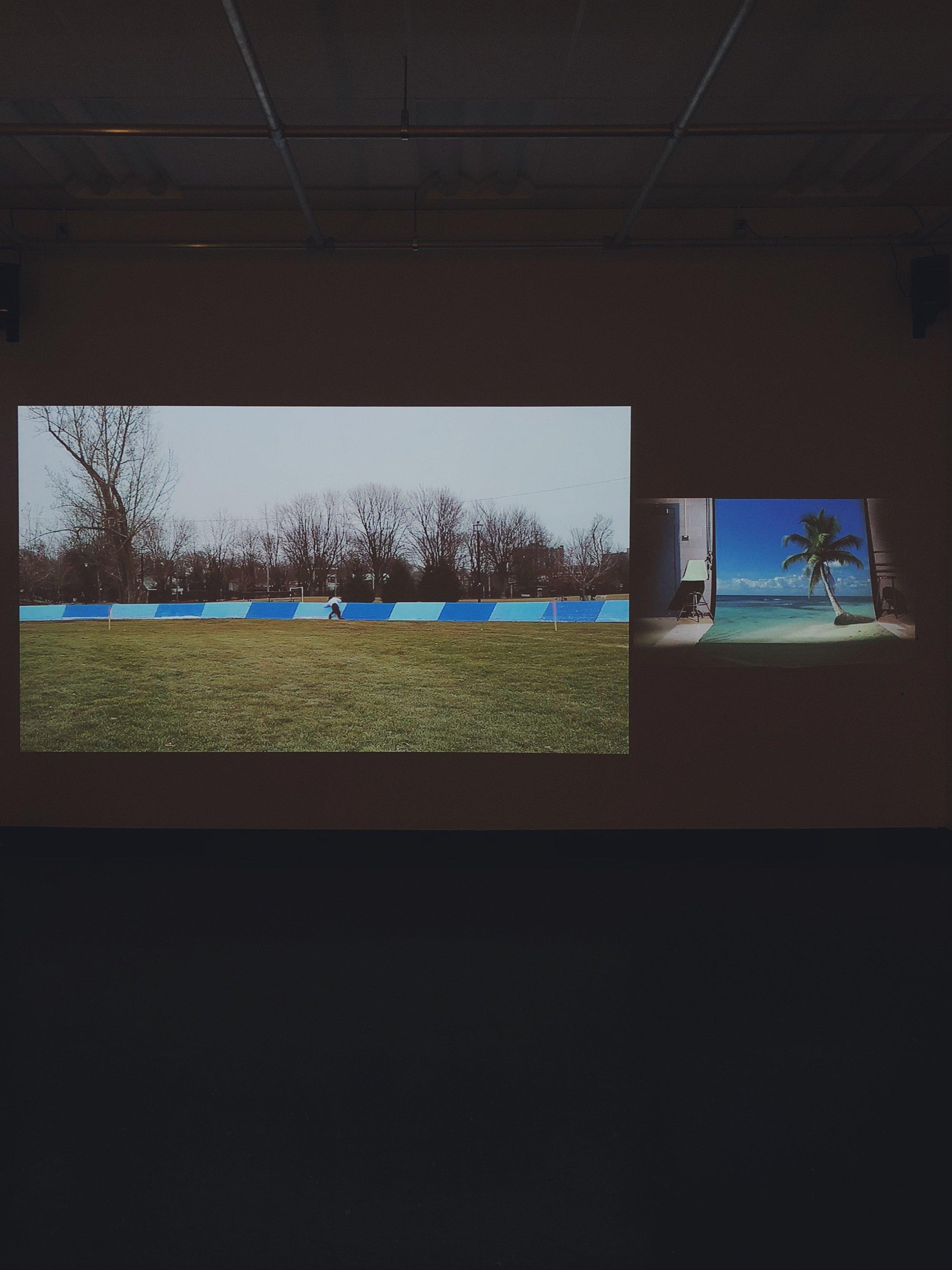 Mat O'Hara, multimedia installation