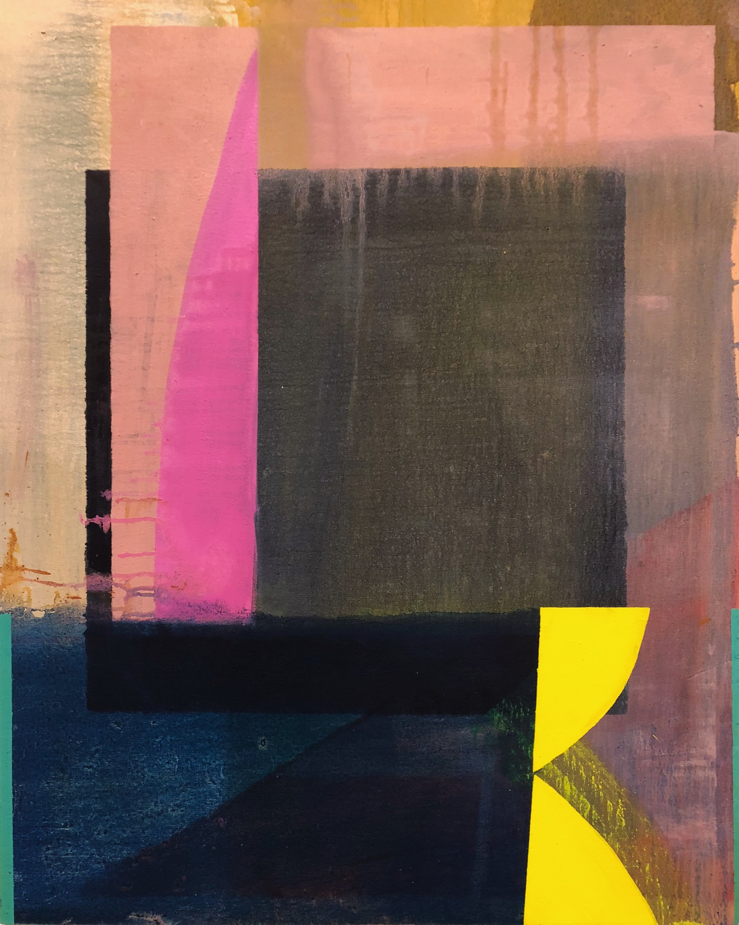 Emma Carney, oil on canvas