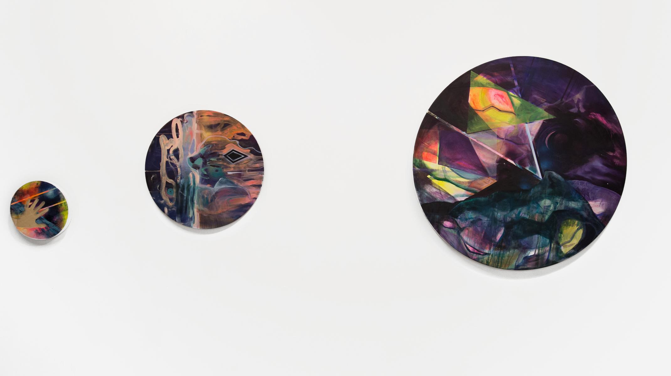 Jessica Hofflick, oil on panel