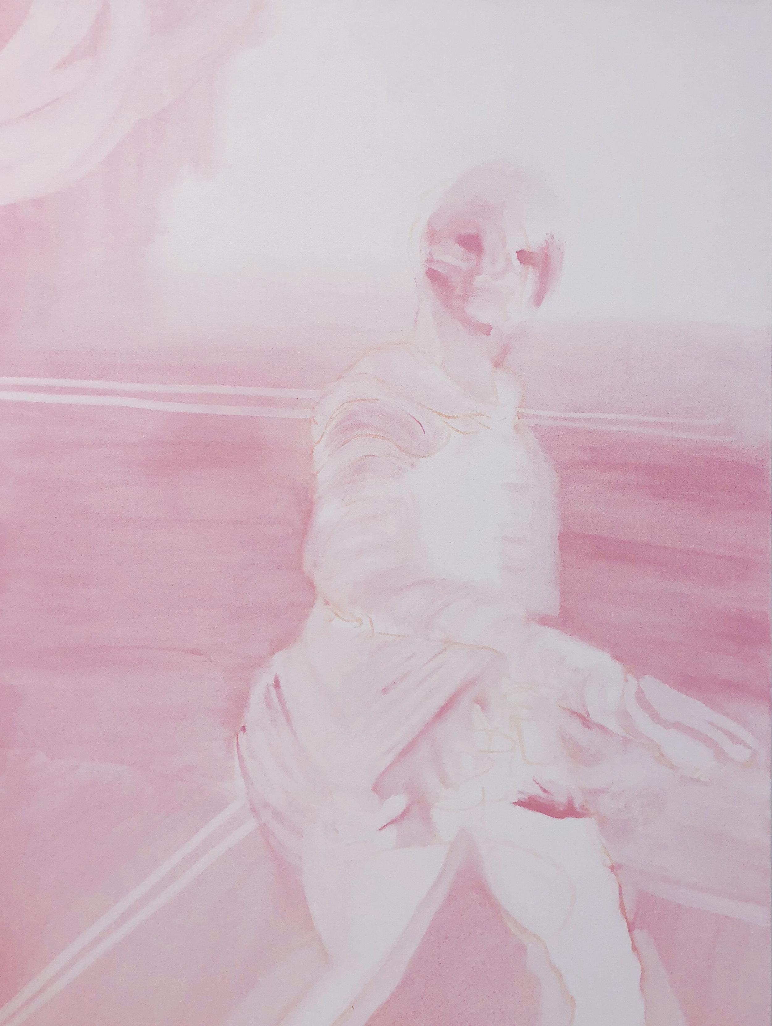 Tiffany April, oil on canvas