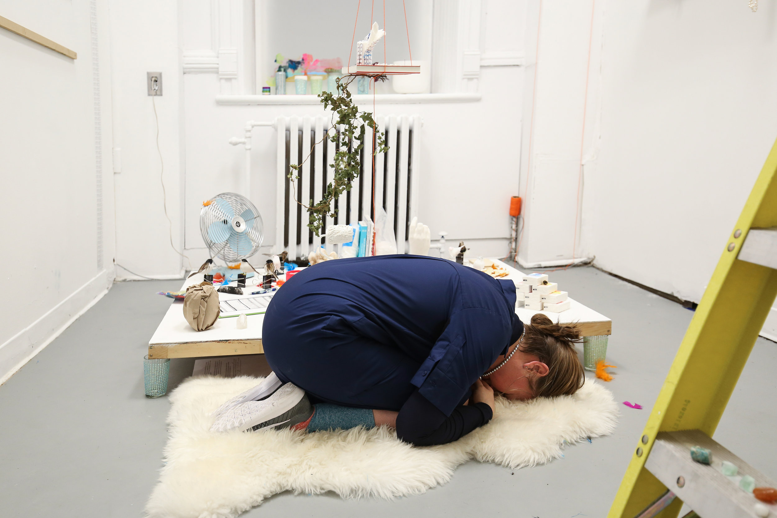 Installation and performance, 2018