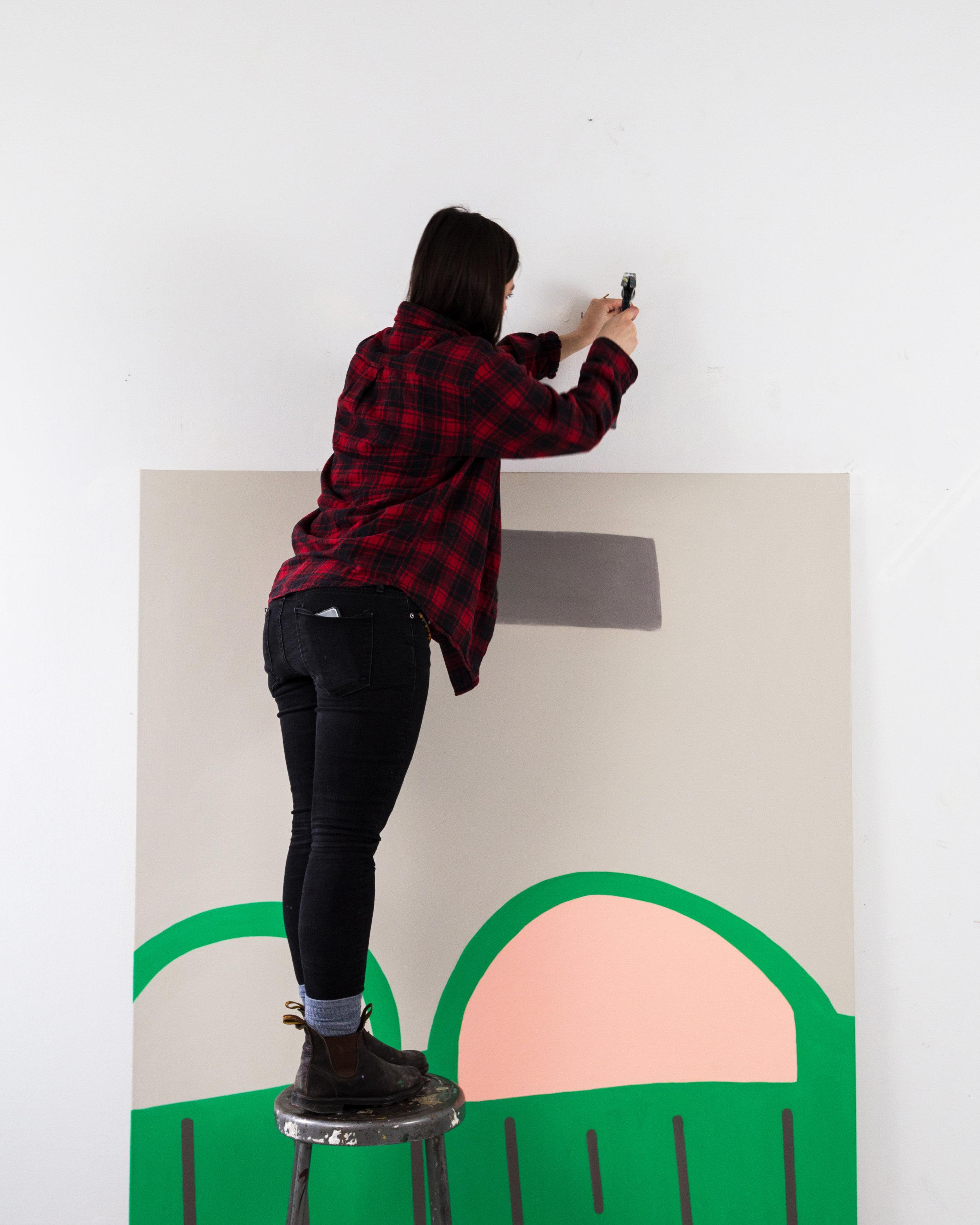 Emma Carney, MOTHER F****N' ARTIST