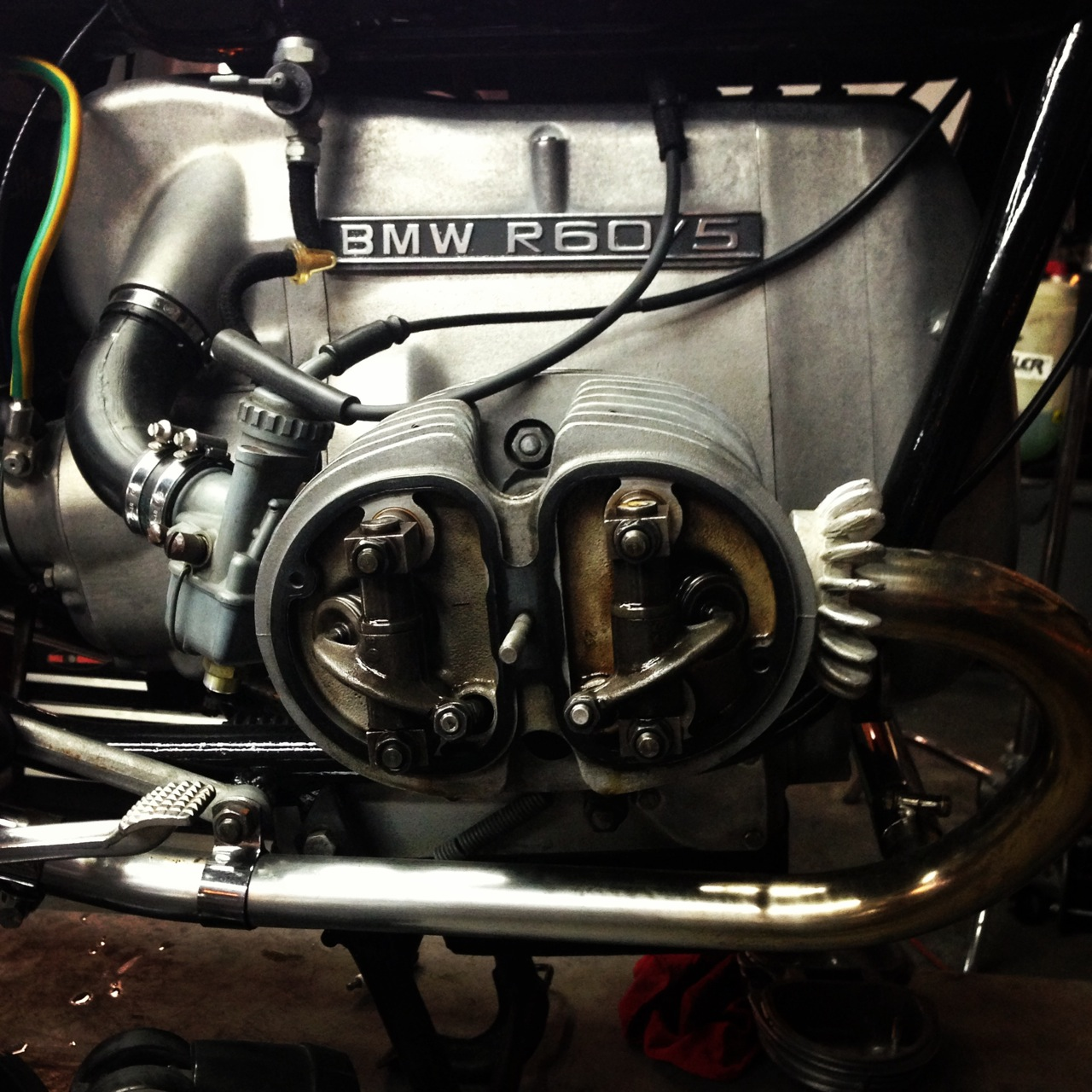 BMW mid-valve adjustment