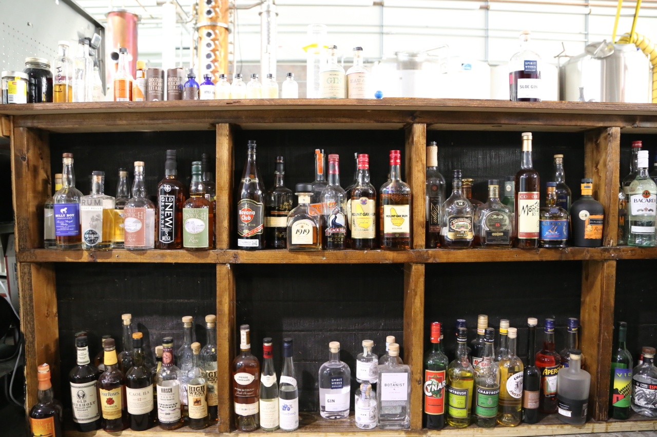 For reference: The Privateer rum library.