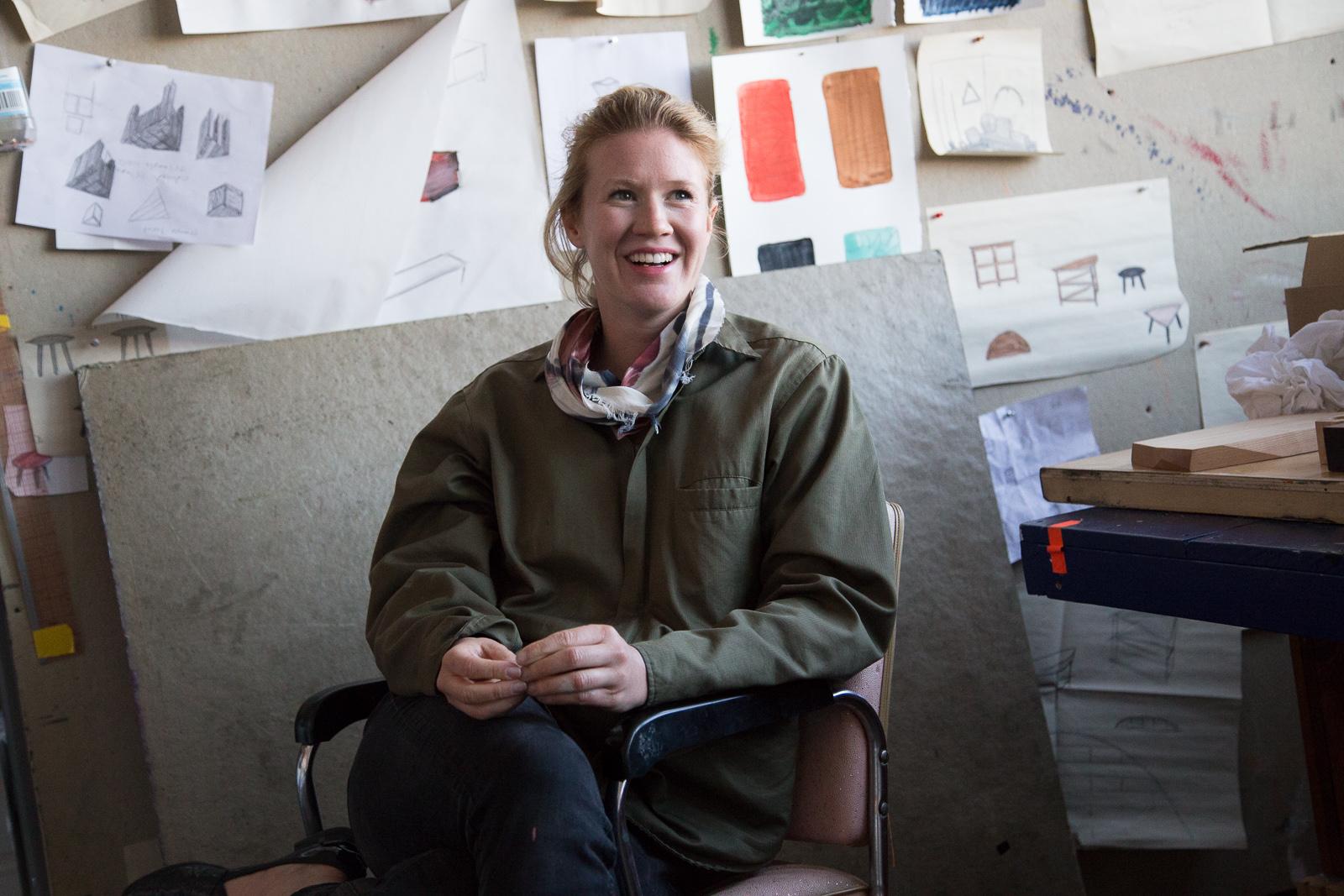 Naomi Clark of Fort Makers.