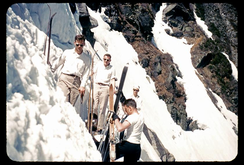 Tuckerman Ravine Mount Washington, New Hampshire. 1952
