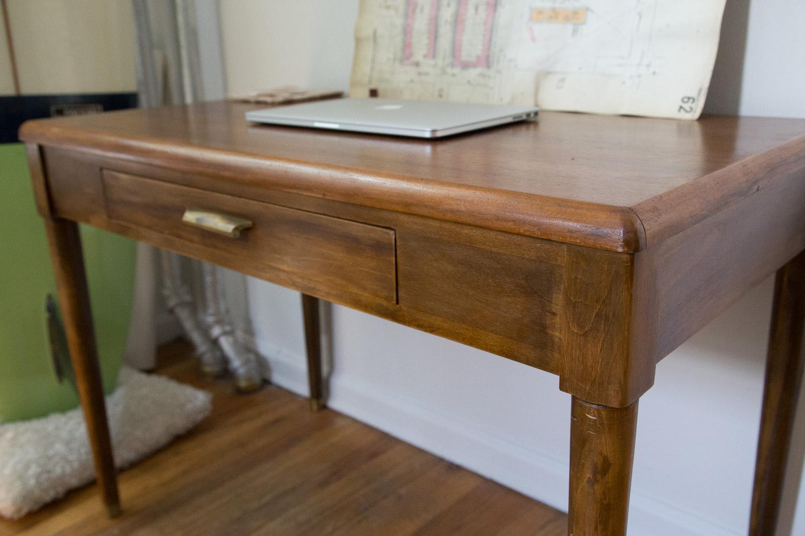 New desk at Hand & Eye HQ.