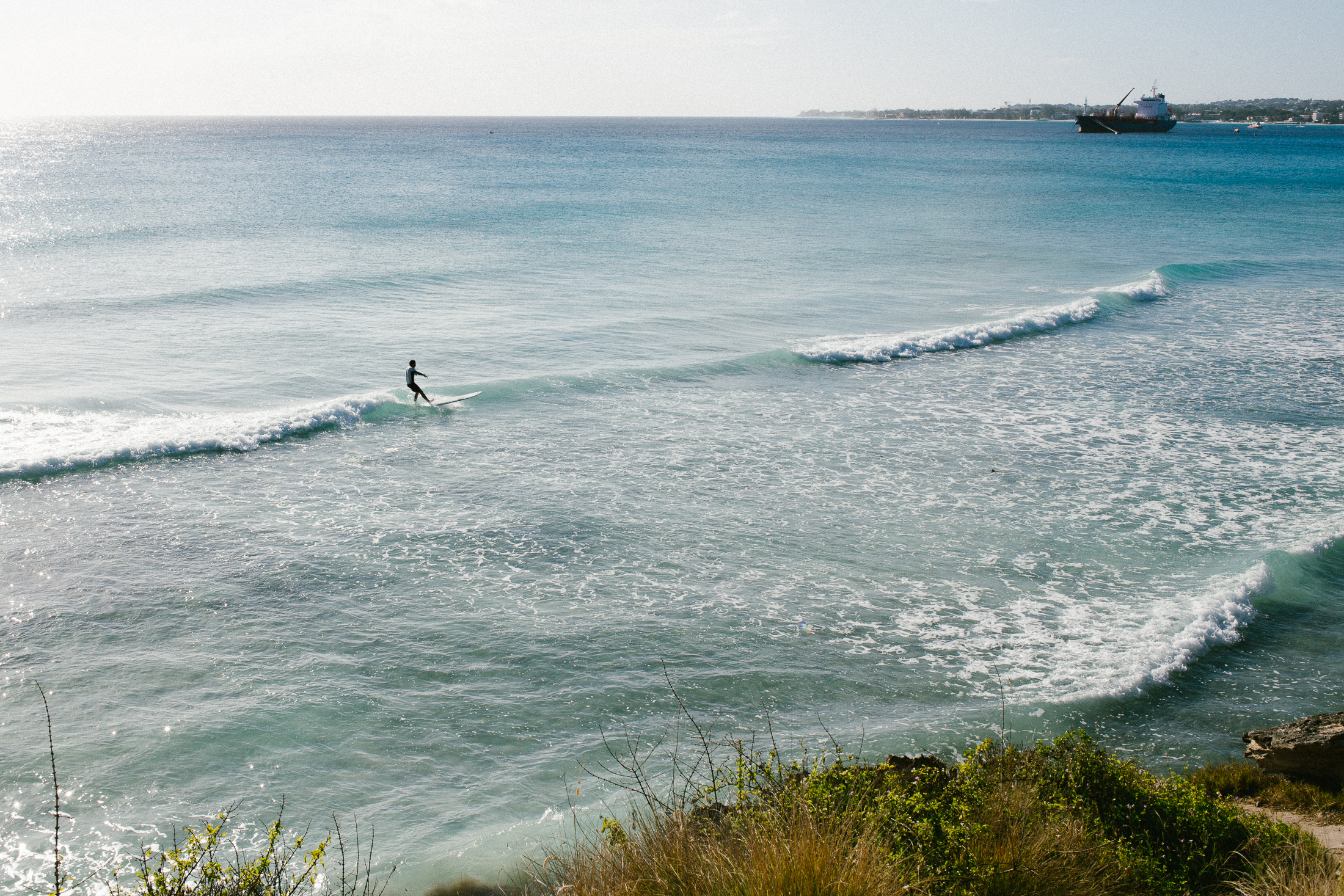 A birthday surf session at Freights Bay