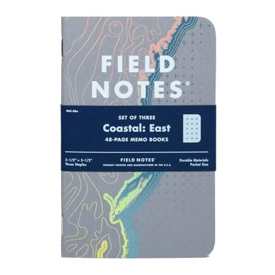 Field Notes - Take notes, take stock. ($13)