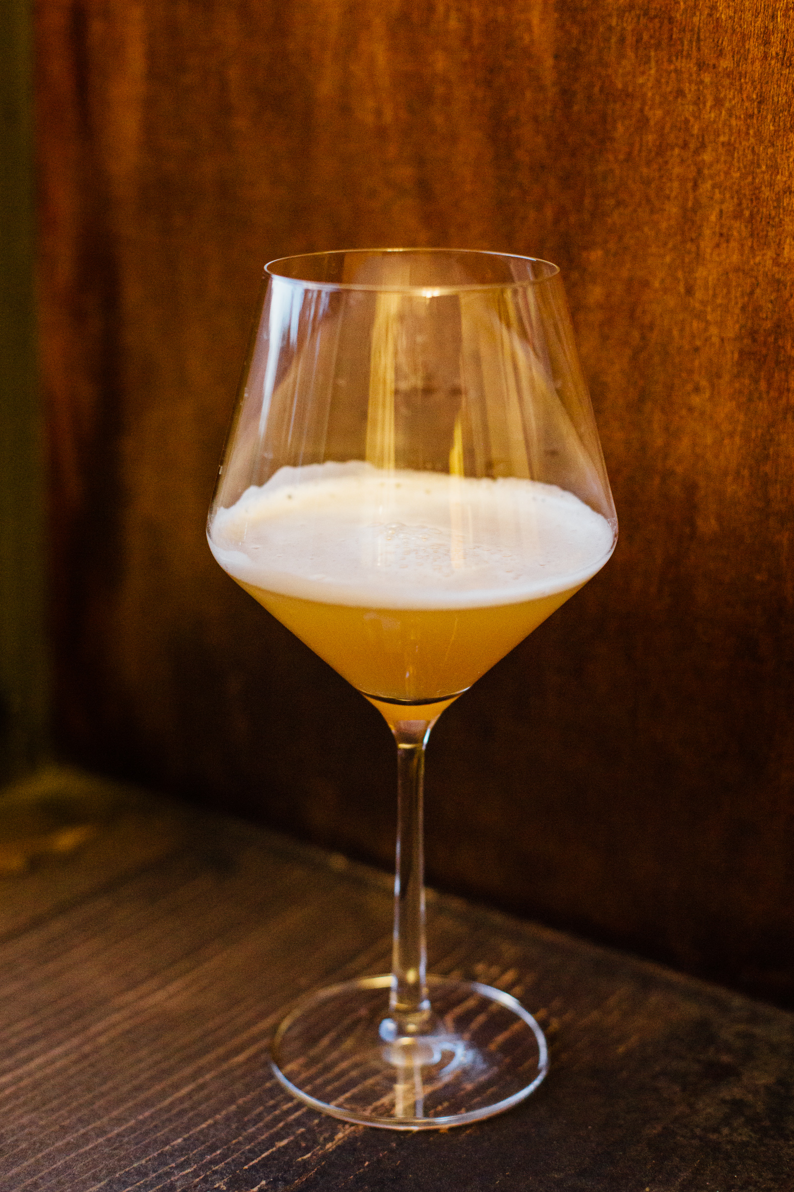 My first batch was a hazy double IPA. It looked good and, yes, it was the best beer I've ever had.