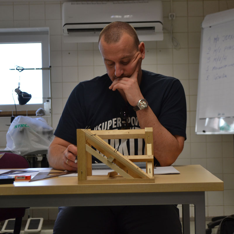 descriptive geometry class viljandi, estonia, 2013