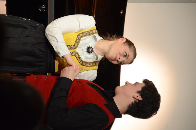 Frederikke Kampmann and Bryan Benner, together and adorable