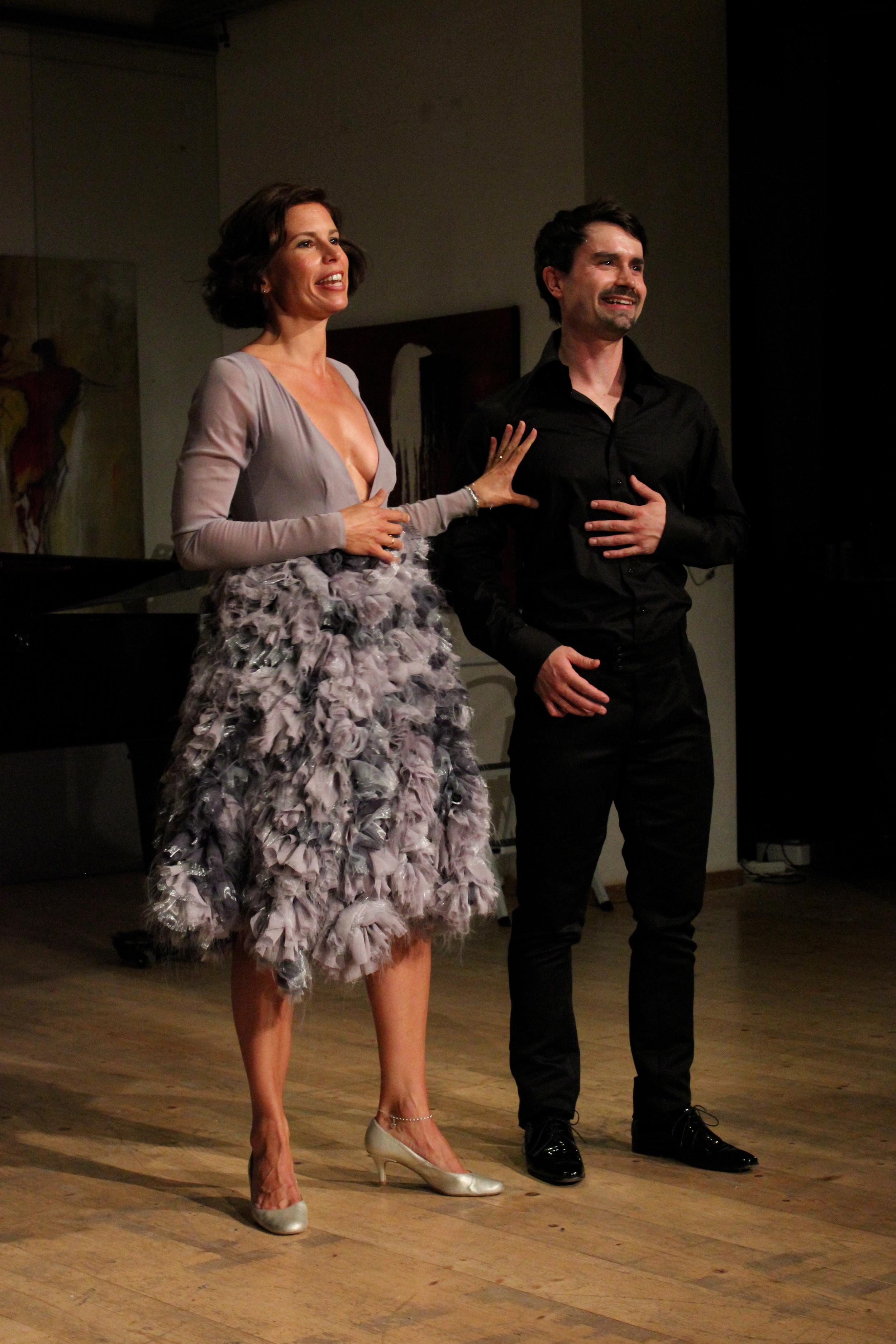 Julia Koci, soprano and Eric Stokloße, tenor