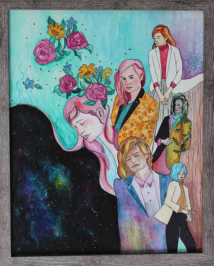 """""""And The Queens""""  16x20in"""