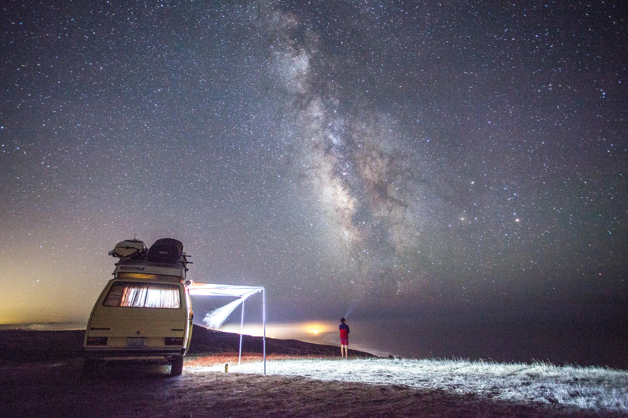 Night Sky Photography Westfalia