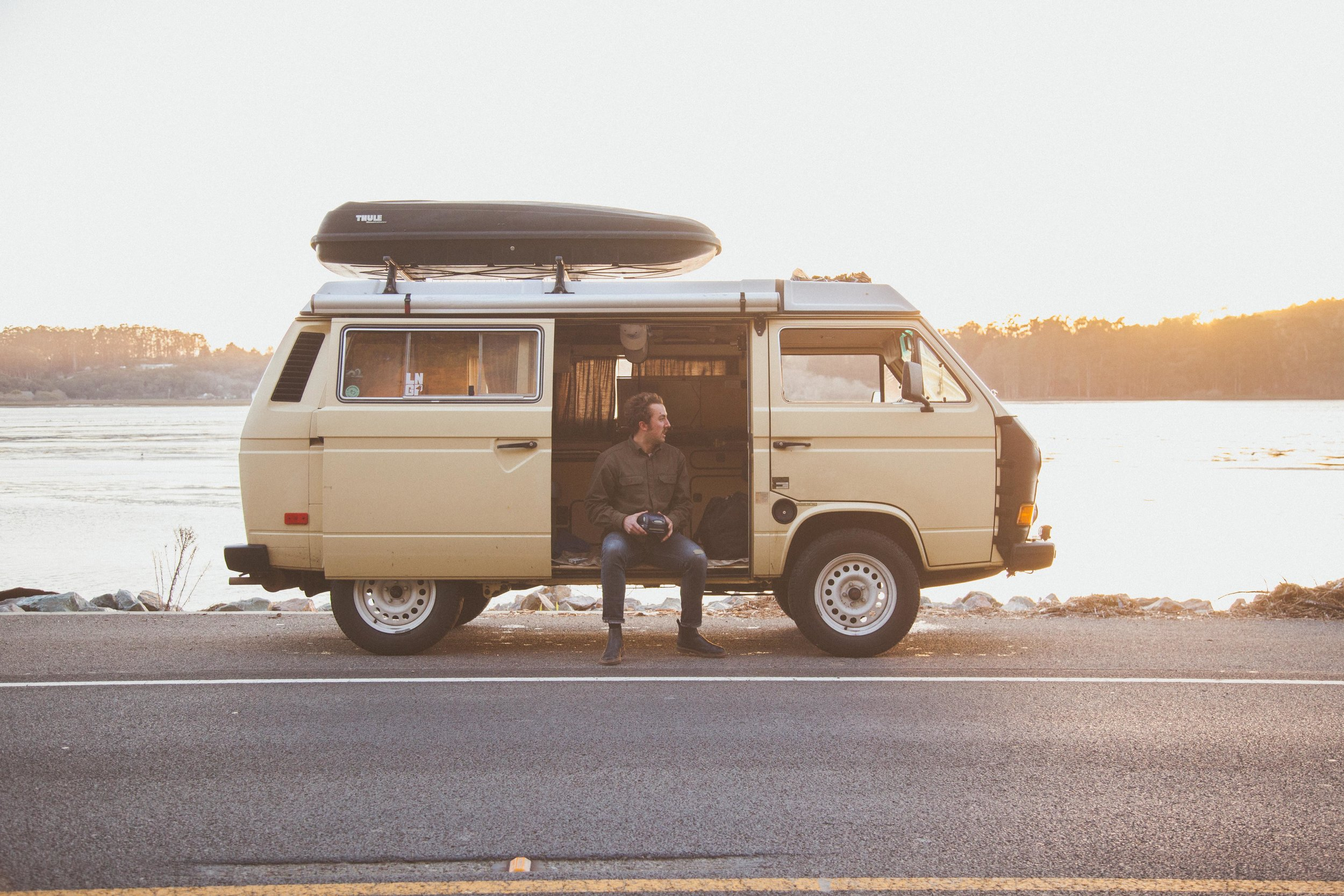 Vanagon on the Coast