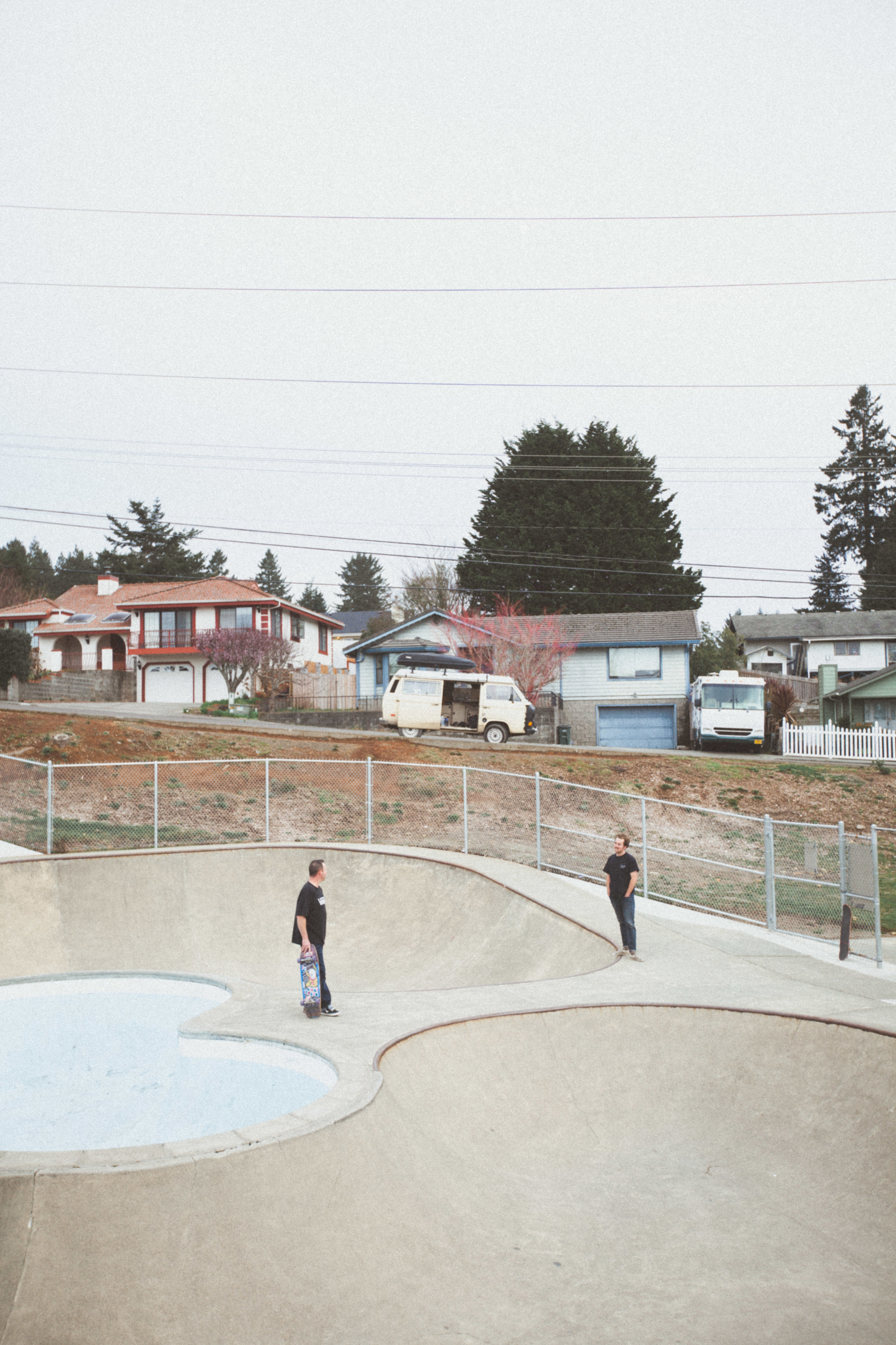 Skateboarding with Locals