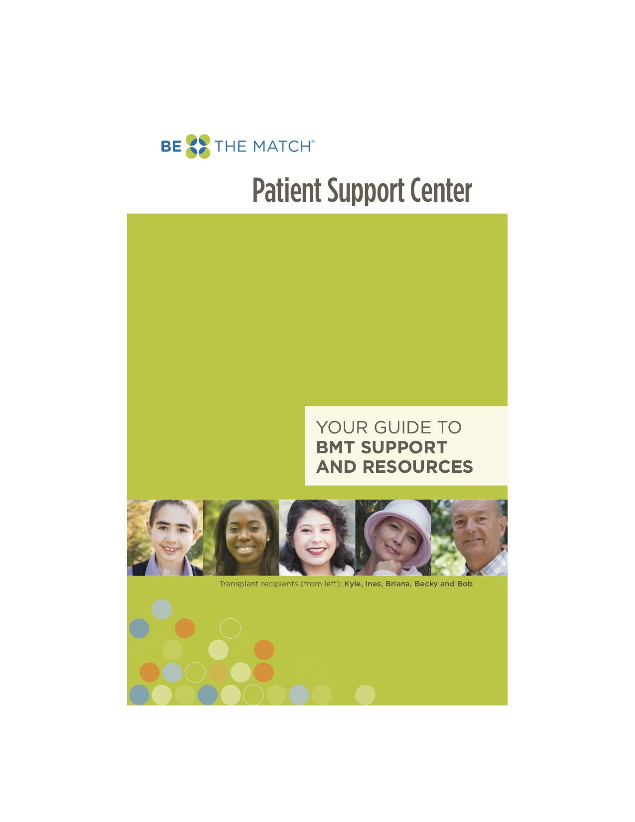Be The Match (Bone Marrow) Patient Support -