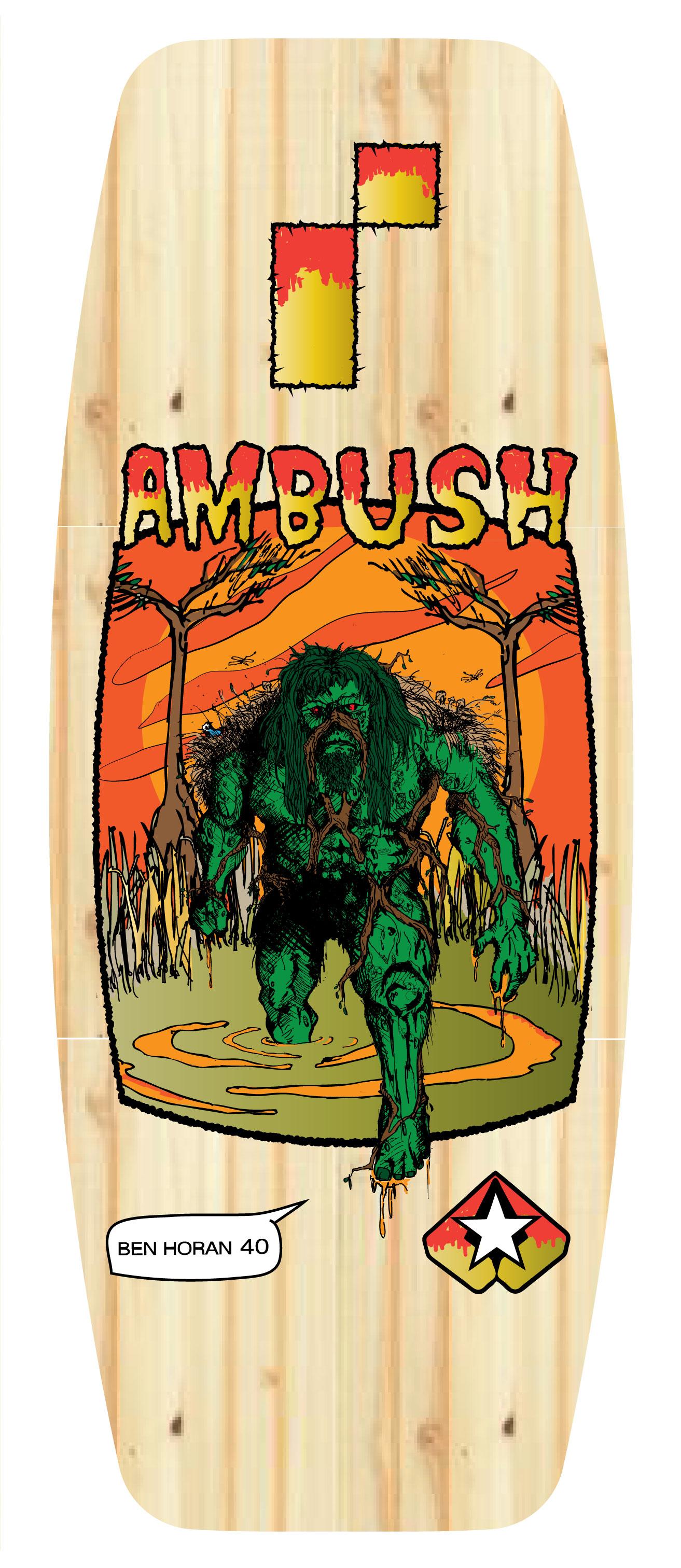 Ambush board co/ REMOTE