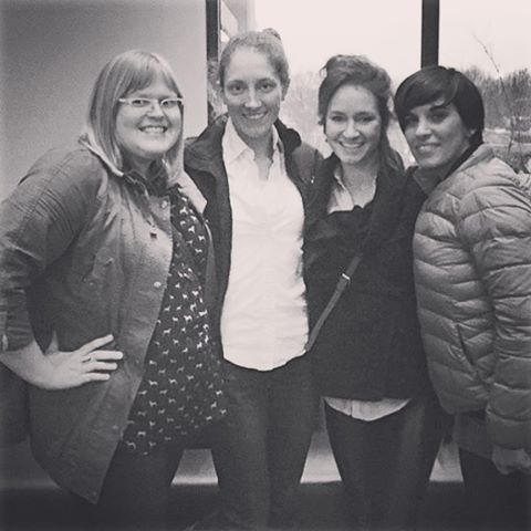 I just left my final day at Kalico Design where I've had the pleasure of working with these amazingly hard-working women. It's been an educational and insightful past 13 months and I can not thank them enough for all that they've taught me in regards to creativity, client relations, hard work, dedication and over all ass-kicking. I couldn't have made this transition without you! #kalicodesign #ontothenext
