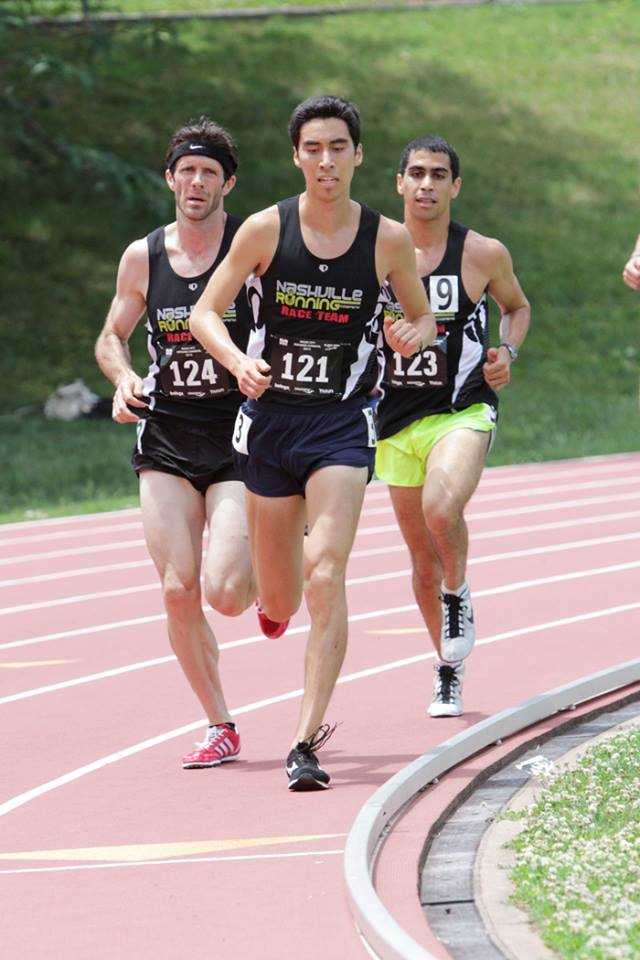 Ben Li (Middle) and Joey Elsakr (right) sport the titles of med students and nrc race team members.